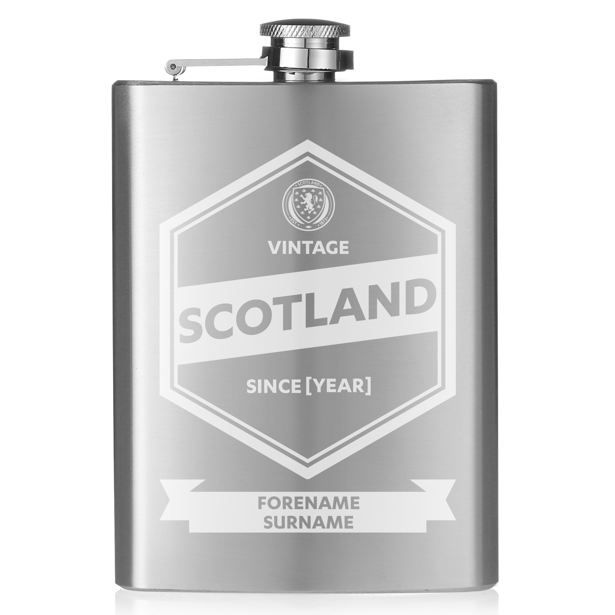 Scotland Vintage Hip Flask