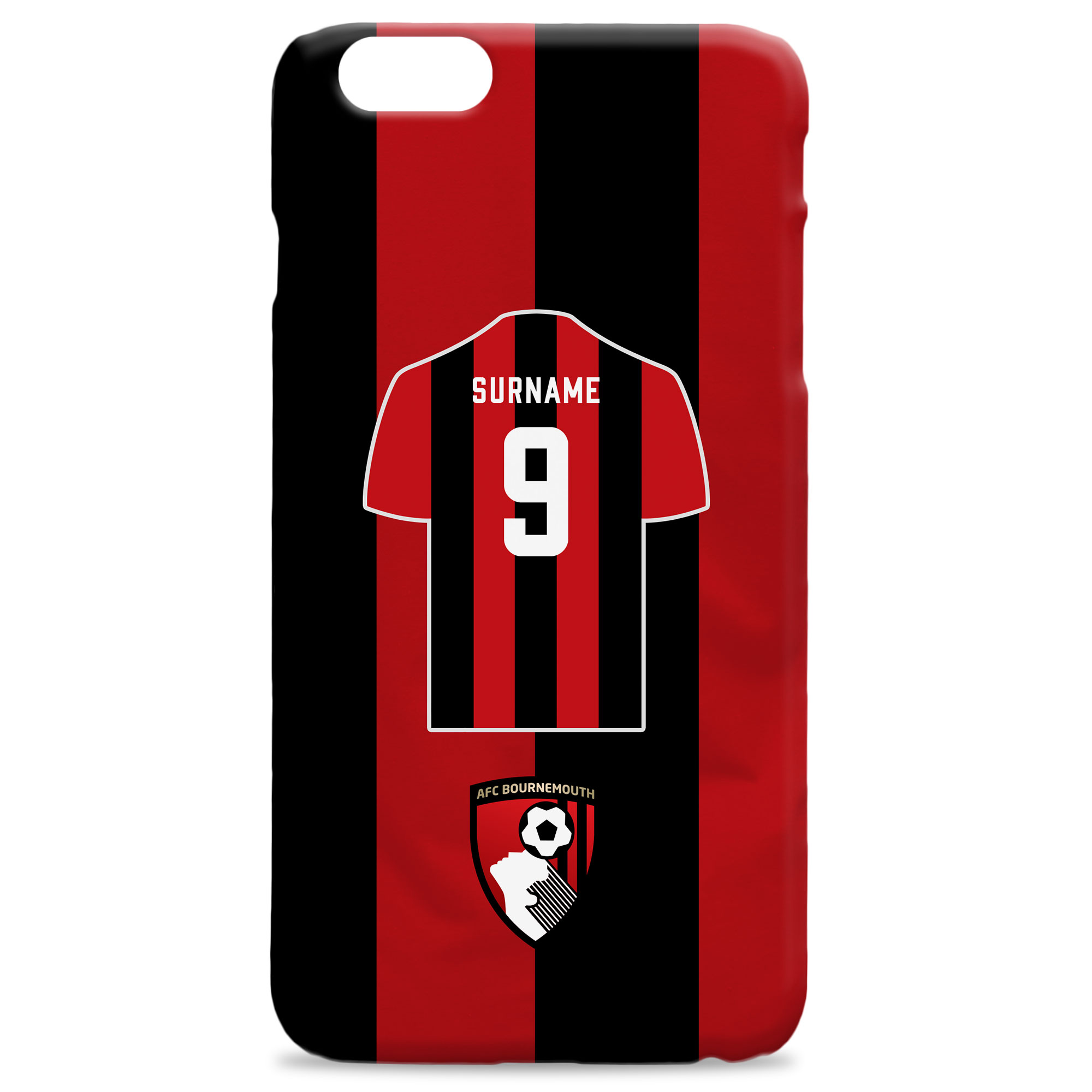 AFC Bournemouth Shirt Hard Back Phone Case