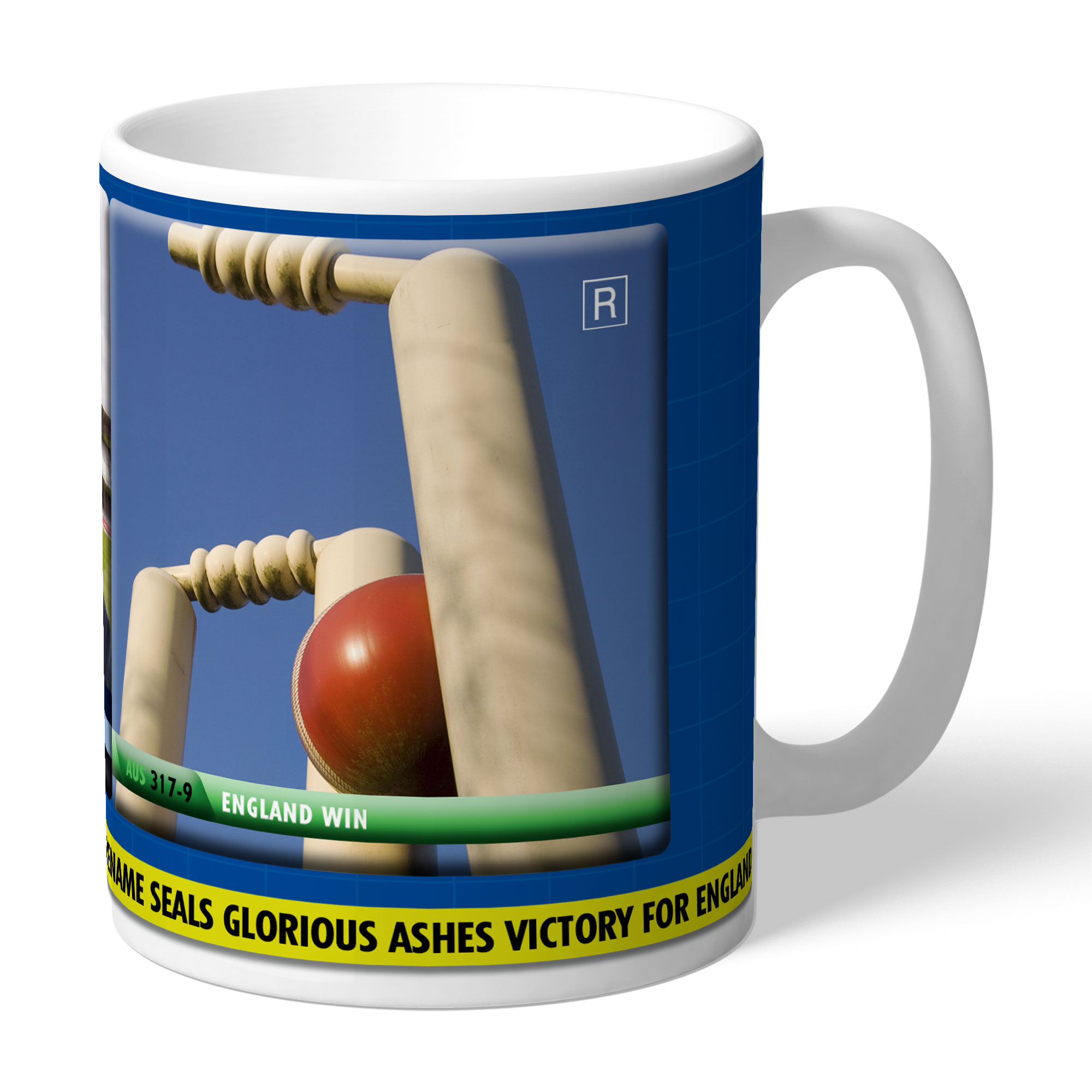 Personalised Cricket Mug