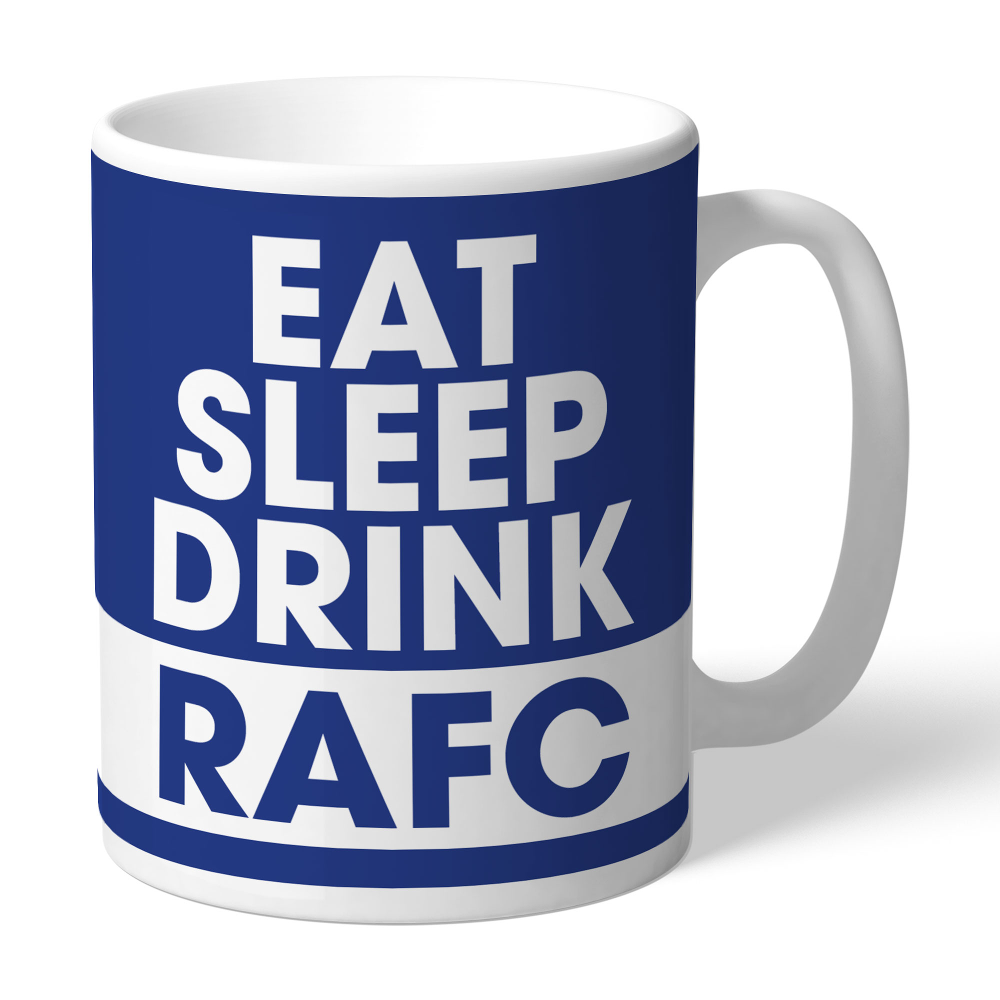 Rochdale AFC Eat Sleep Drink Mug