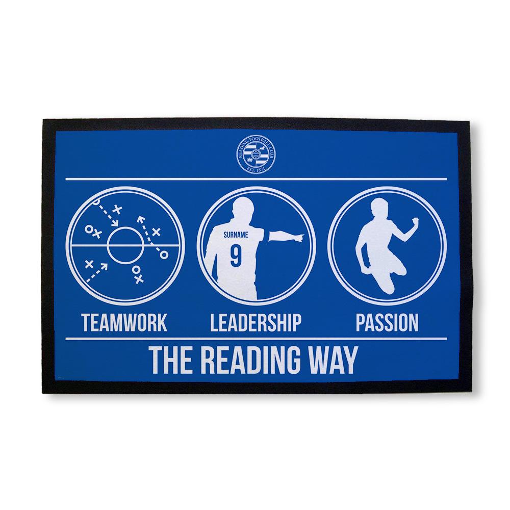 Reading FC Way Door Mat