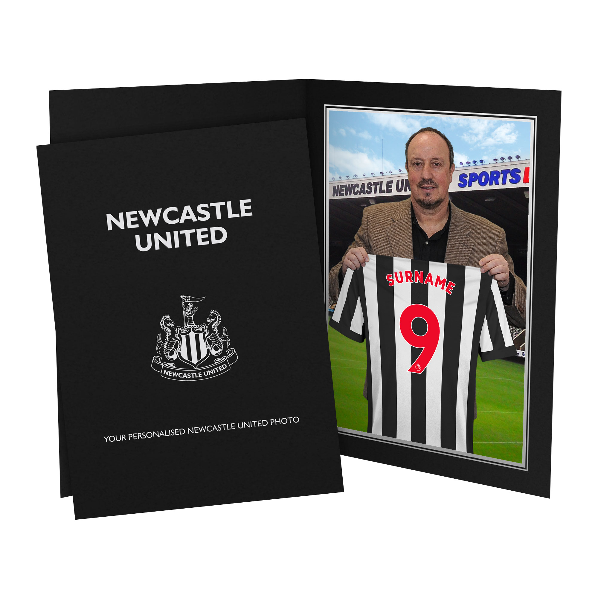 Newcastle United FC 9x6 Manager Photo Folder