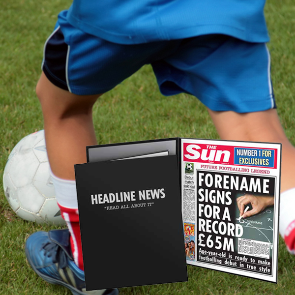 The Sun Youngest Signing News Folder - Male