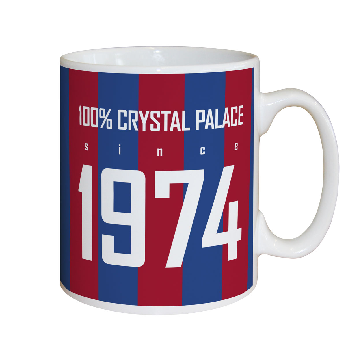 Crystal Palace FC 100 Percent Mug