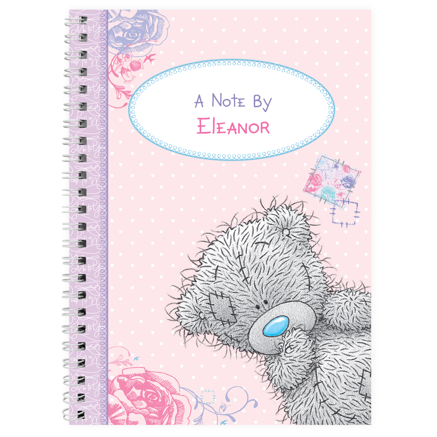 Personalised Me to You Girls Notebook