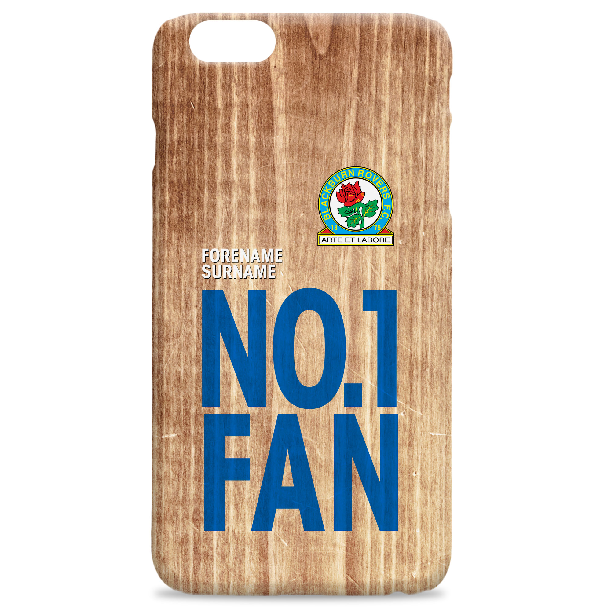 Blackburn Rovers FC No 1 Fan Hard Back Phone Case