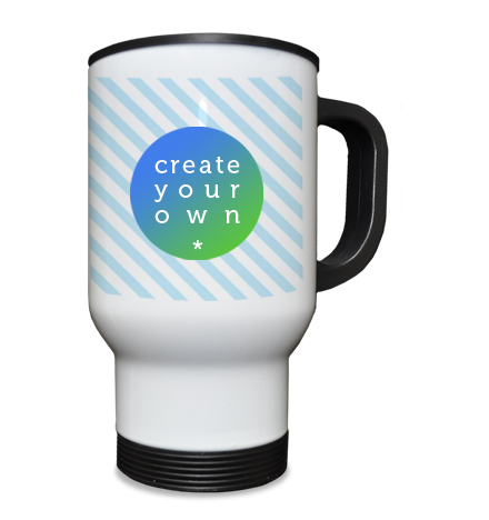 Travel Mug White 15oz