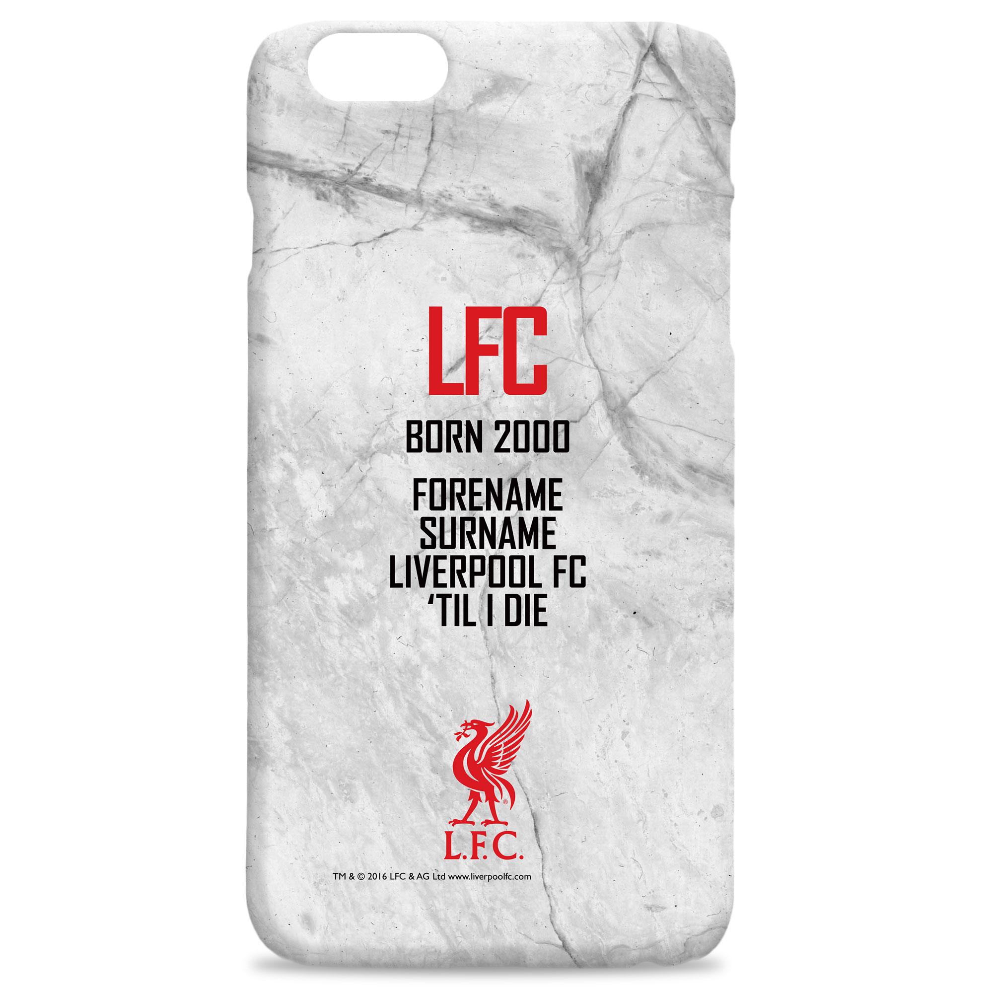 Liverpool FC 'Til I Die Hard Back Phone Case