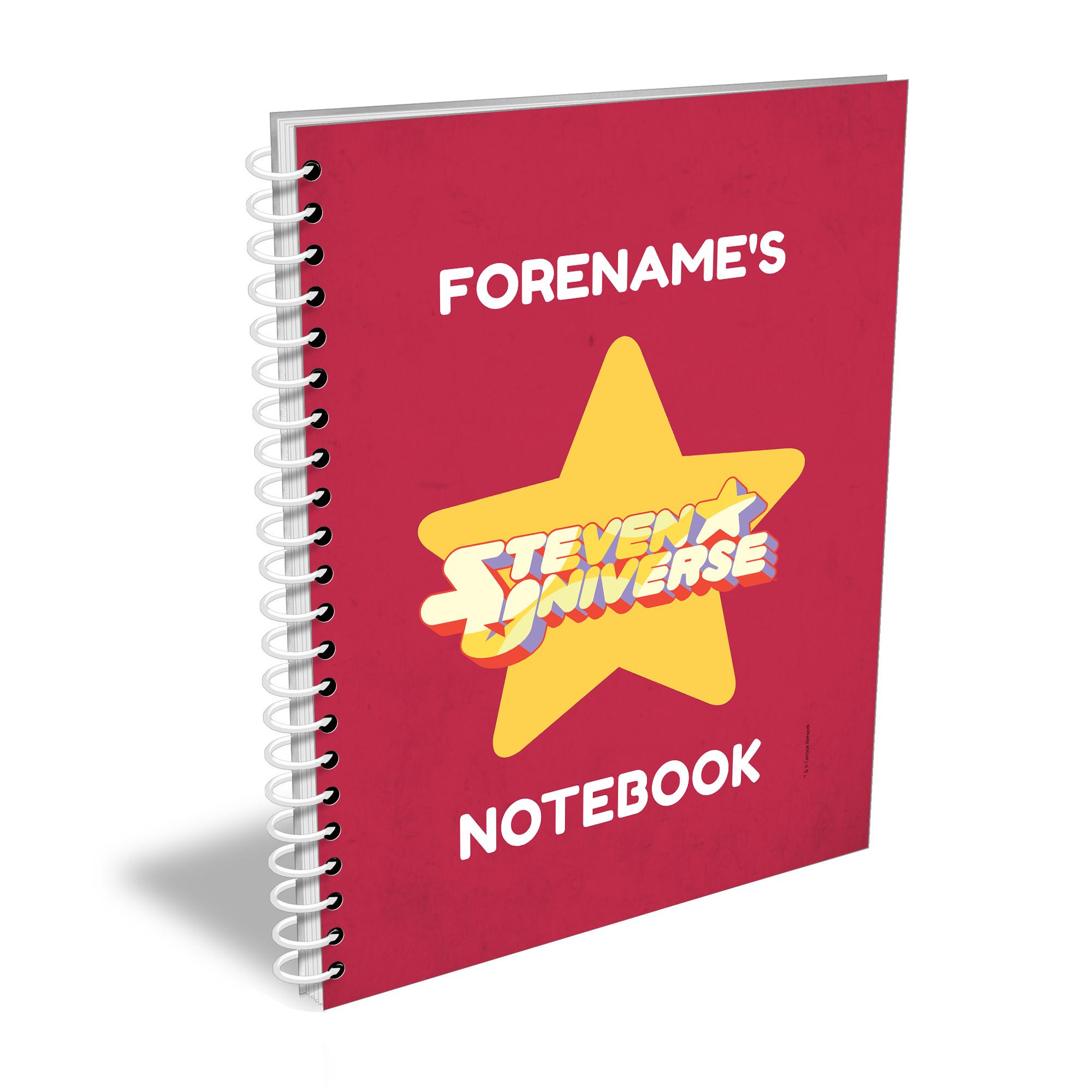 Steven Universe Logo Notebook A4 Notebook