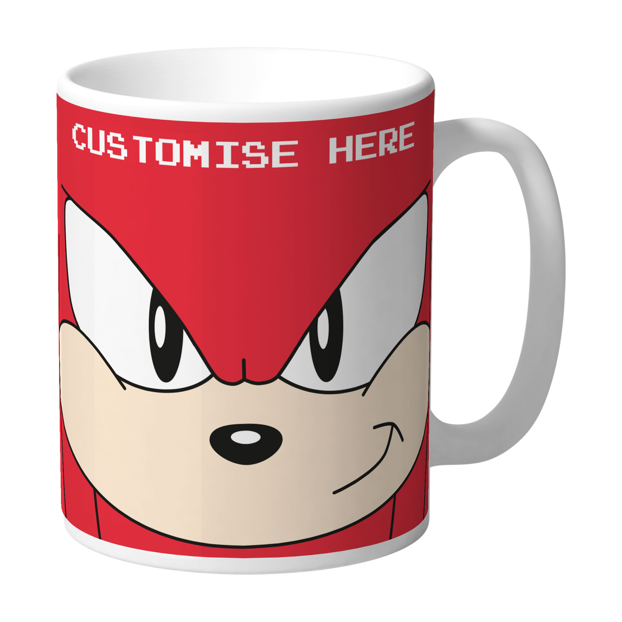 Mug - Knuckles Face - Classic Sonic