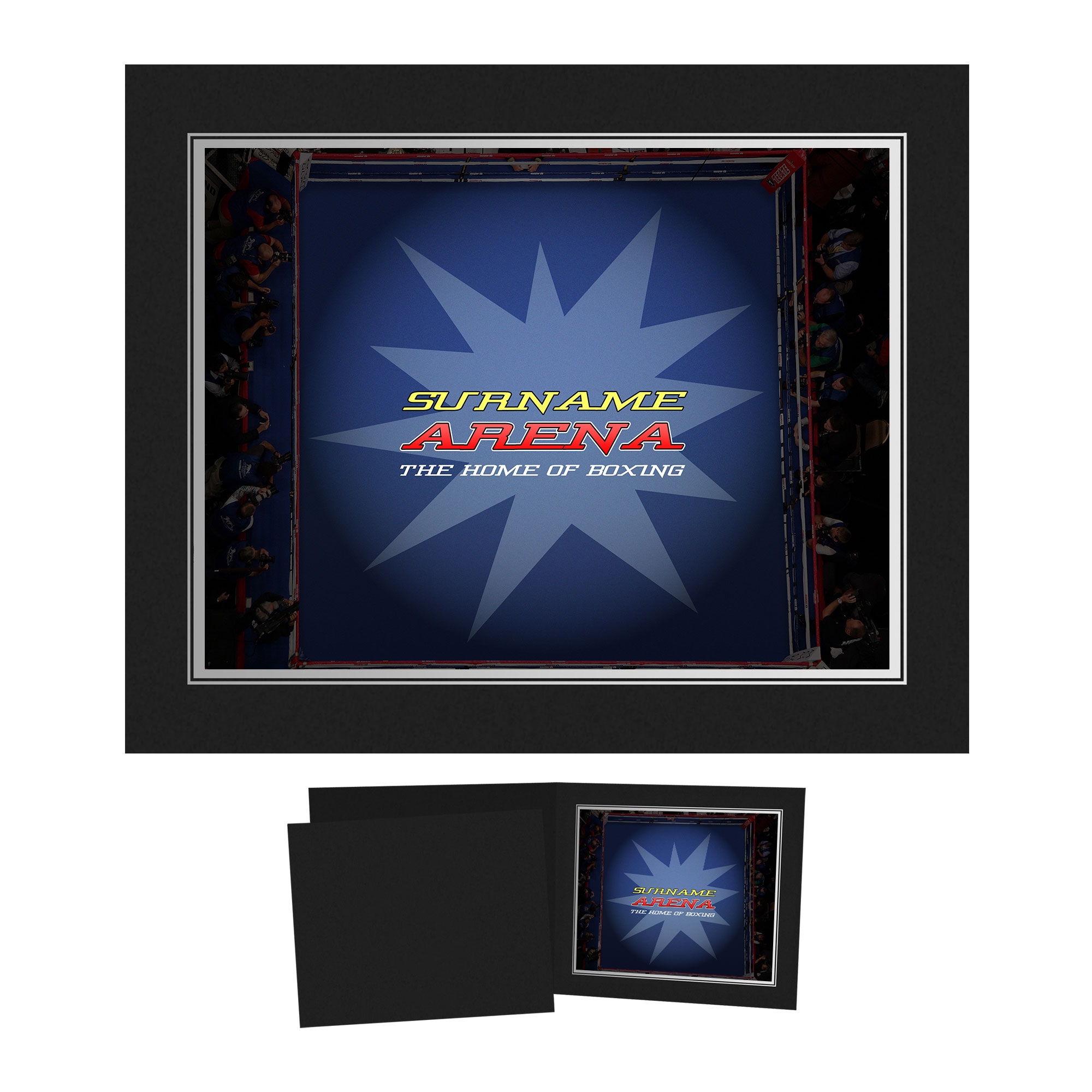 Personalised Boxing Photo Folder