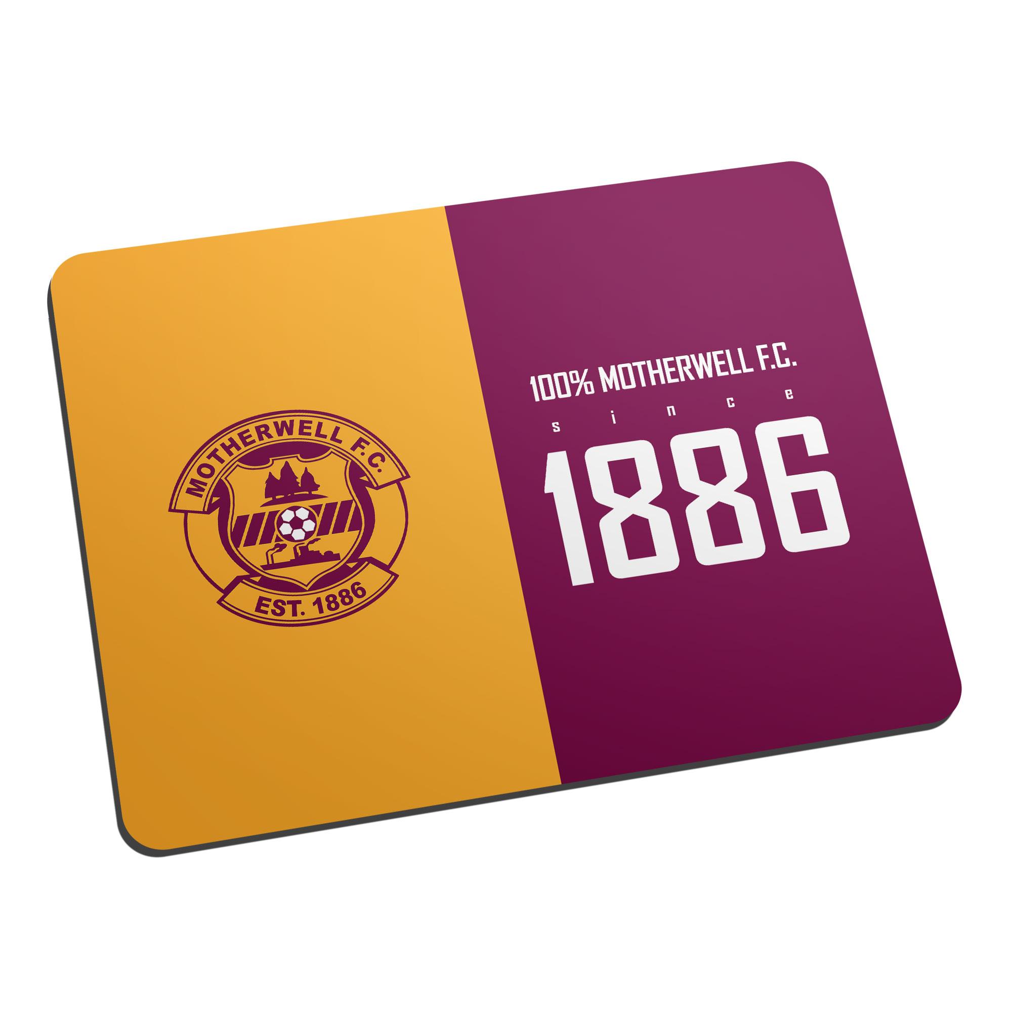 Motherwell FC 100 Percent Mouse Mat