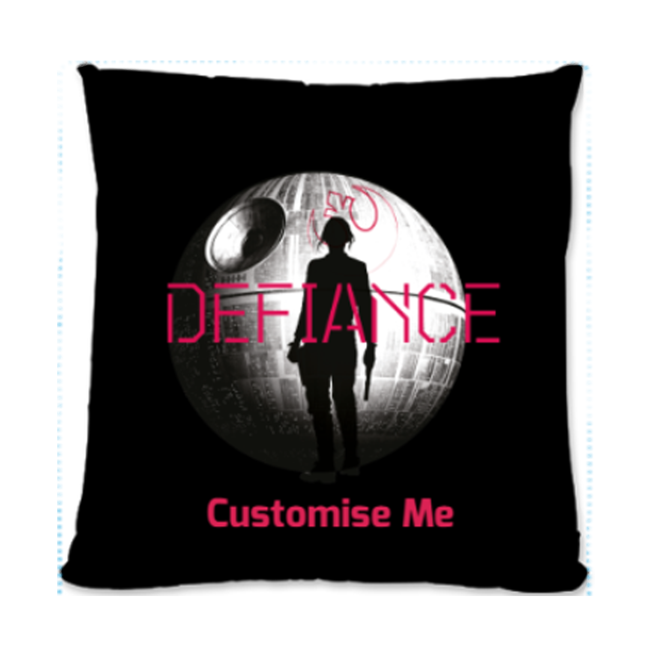 Star Wars Rogue One Defiance Small Fibre Cushion