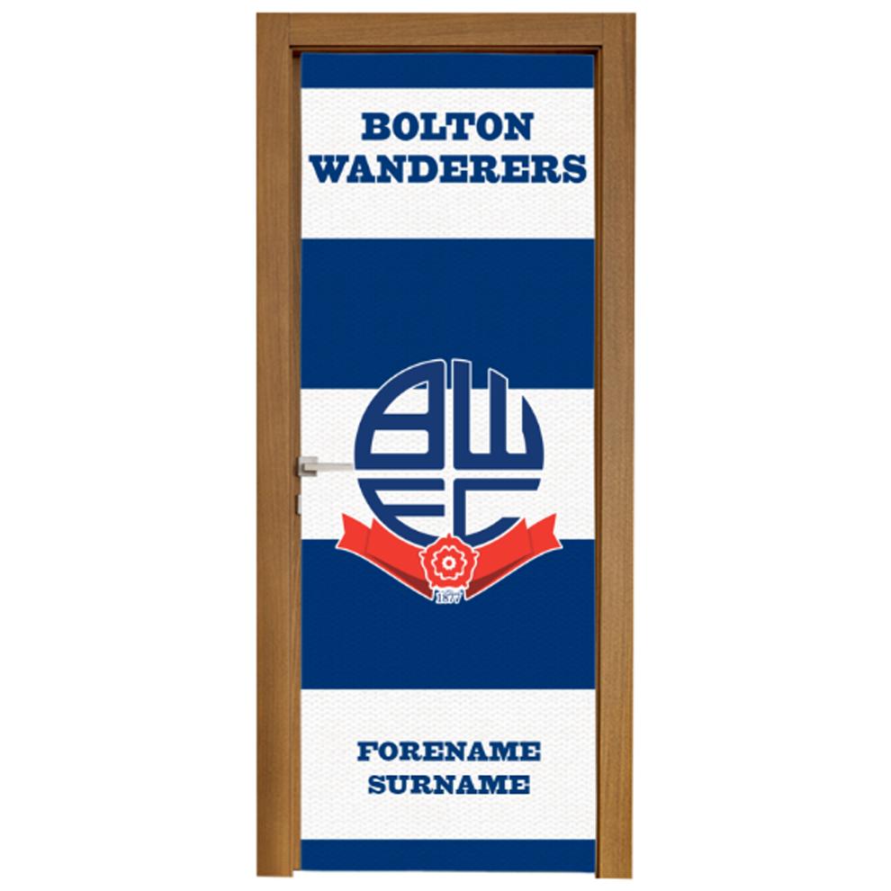 Bolton Wanderers FC Scarf Door Banner