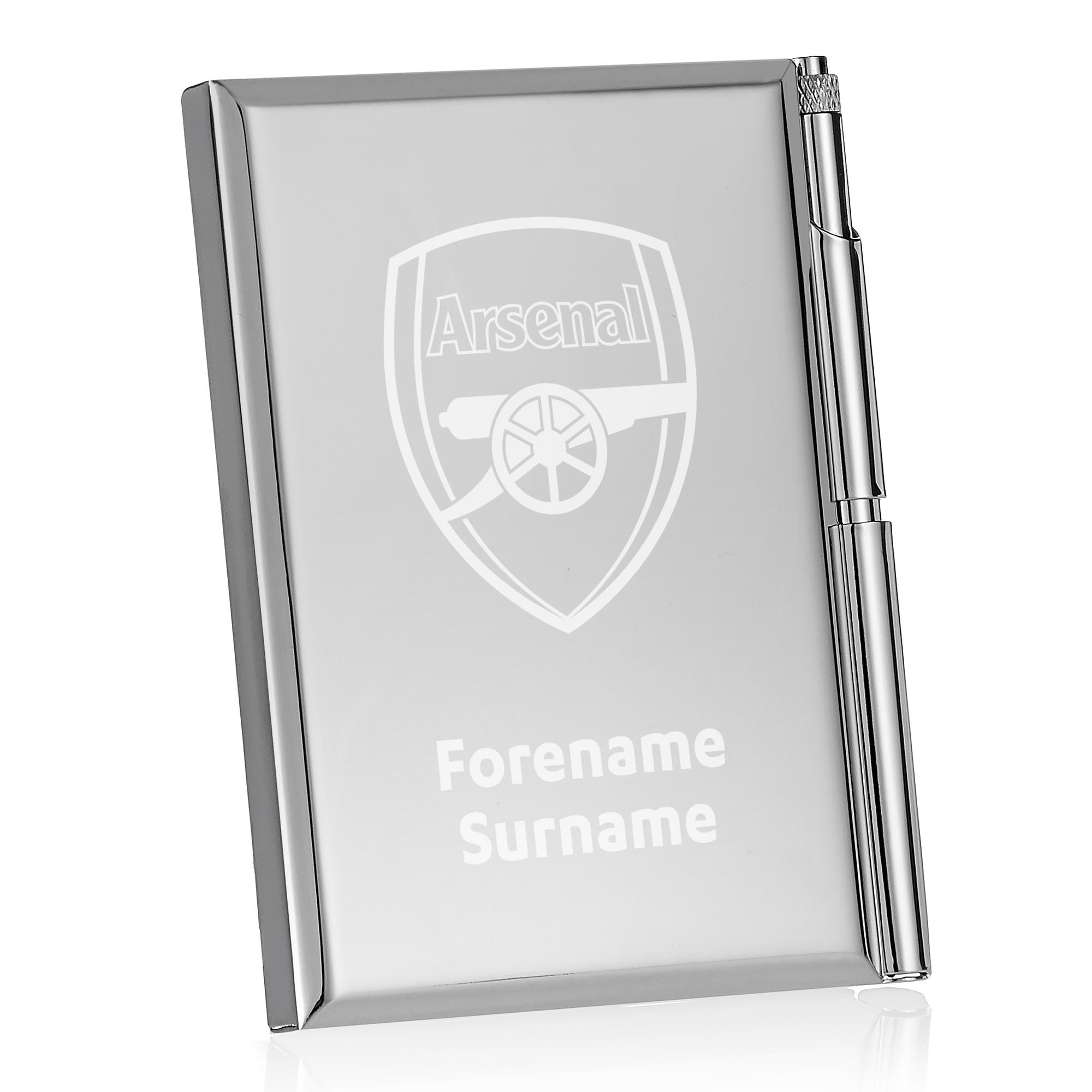 Arsenal FC Crest Address Book