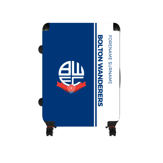 Bolton Wanderers FC Crest Large Suitcase