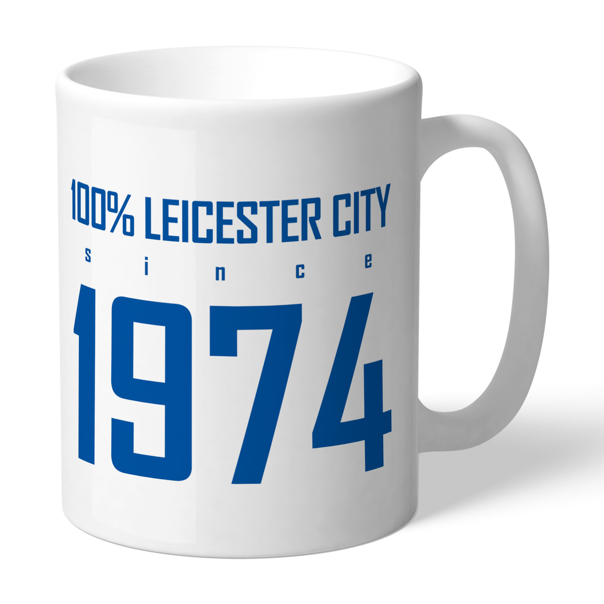 Leicester City FC 100 Percent Mug