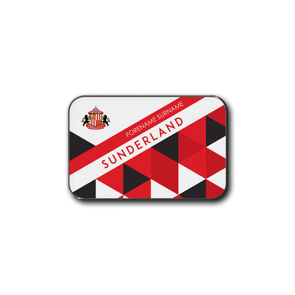 Sunderland AFC Patterned Rear Car Mat