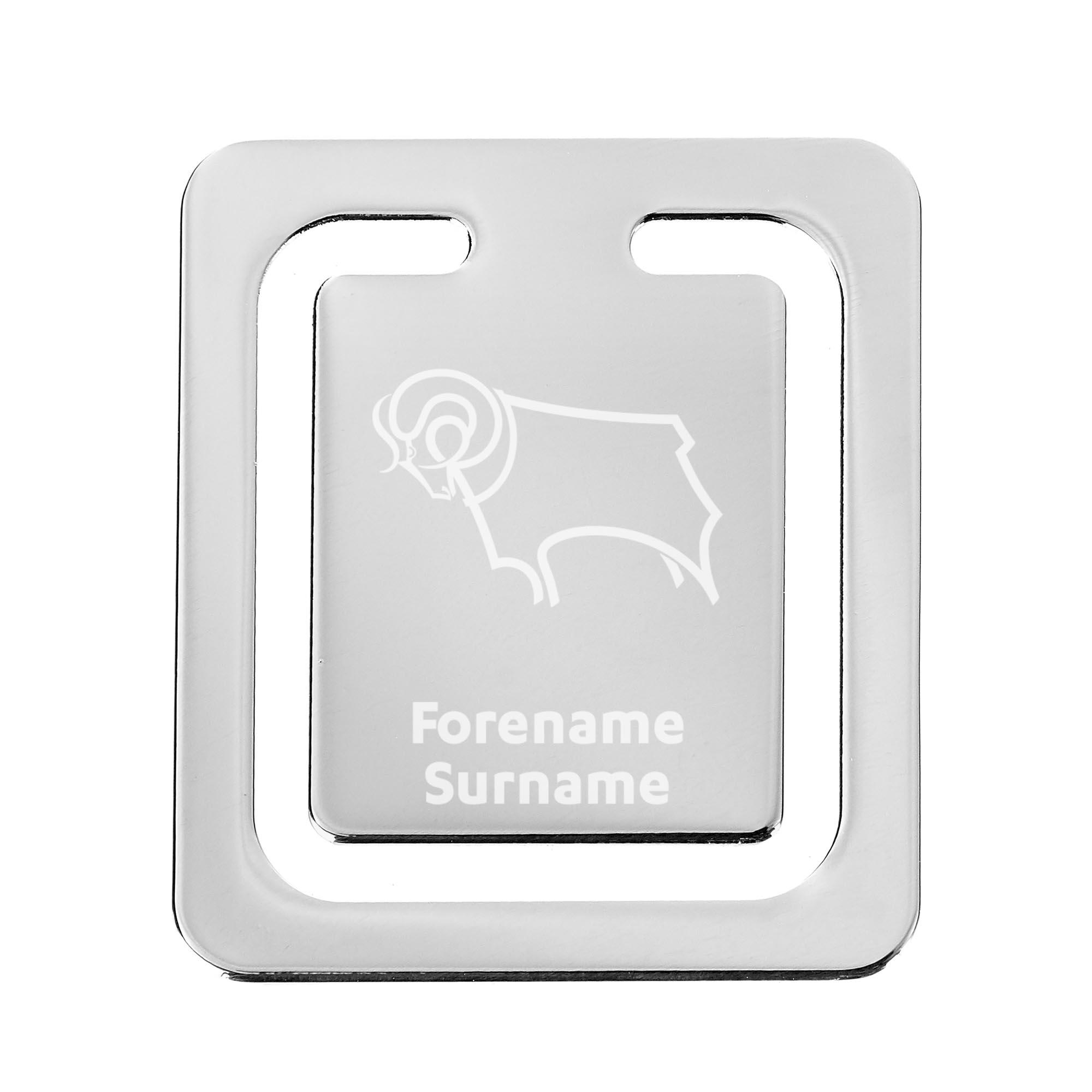 Derby County Crest Bookmark