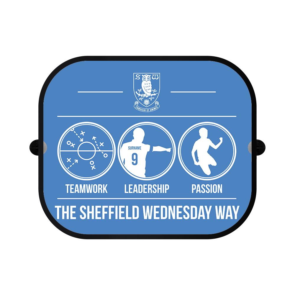 Sheffield Wednesday FC Way Car Sunshade