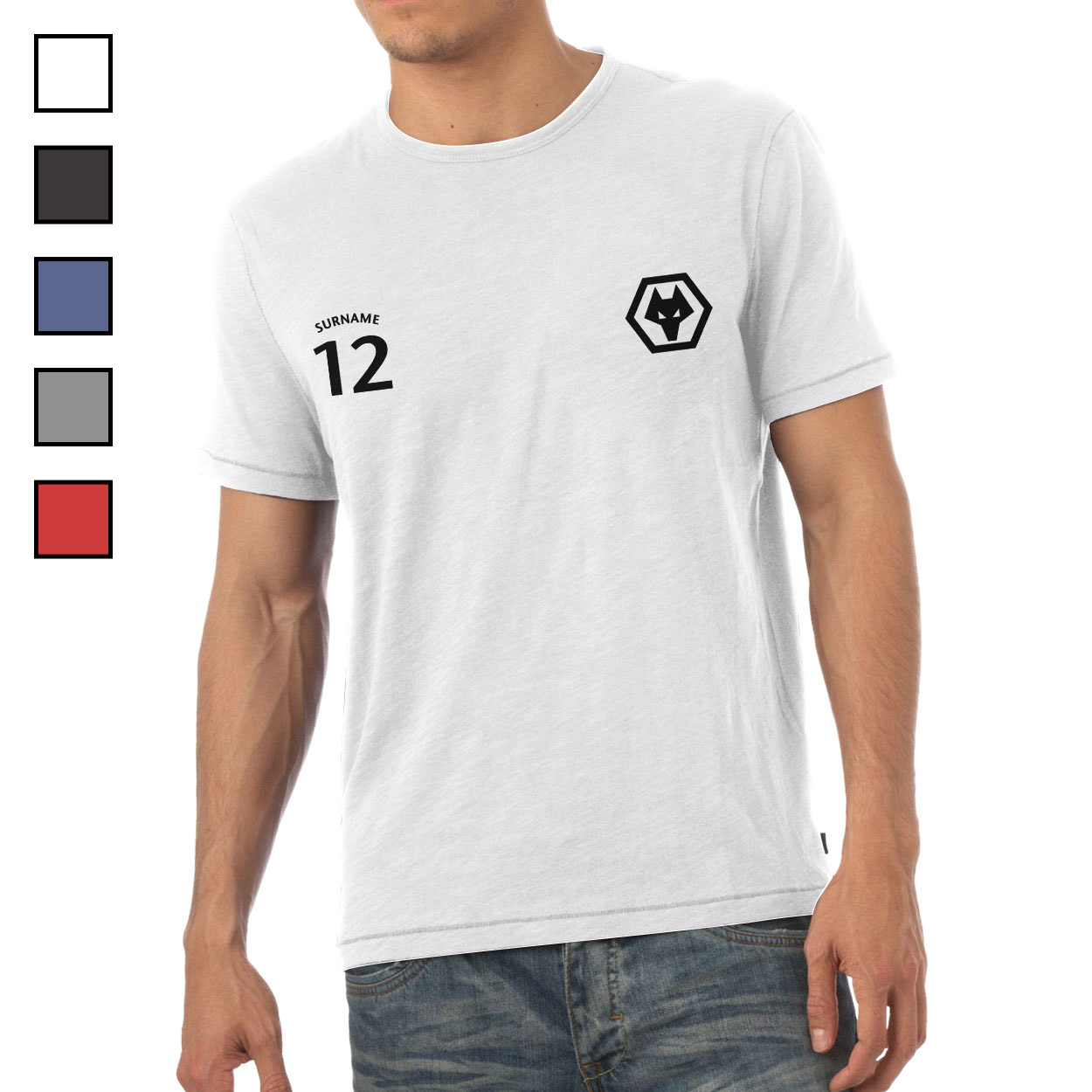 Wolves Mens Sports T-Shirt