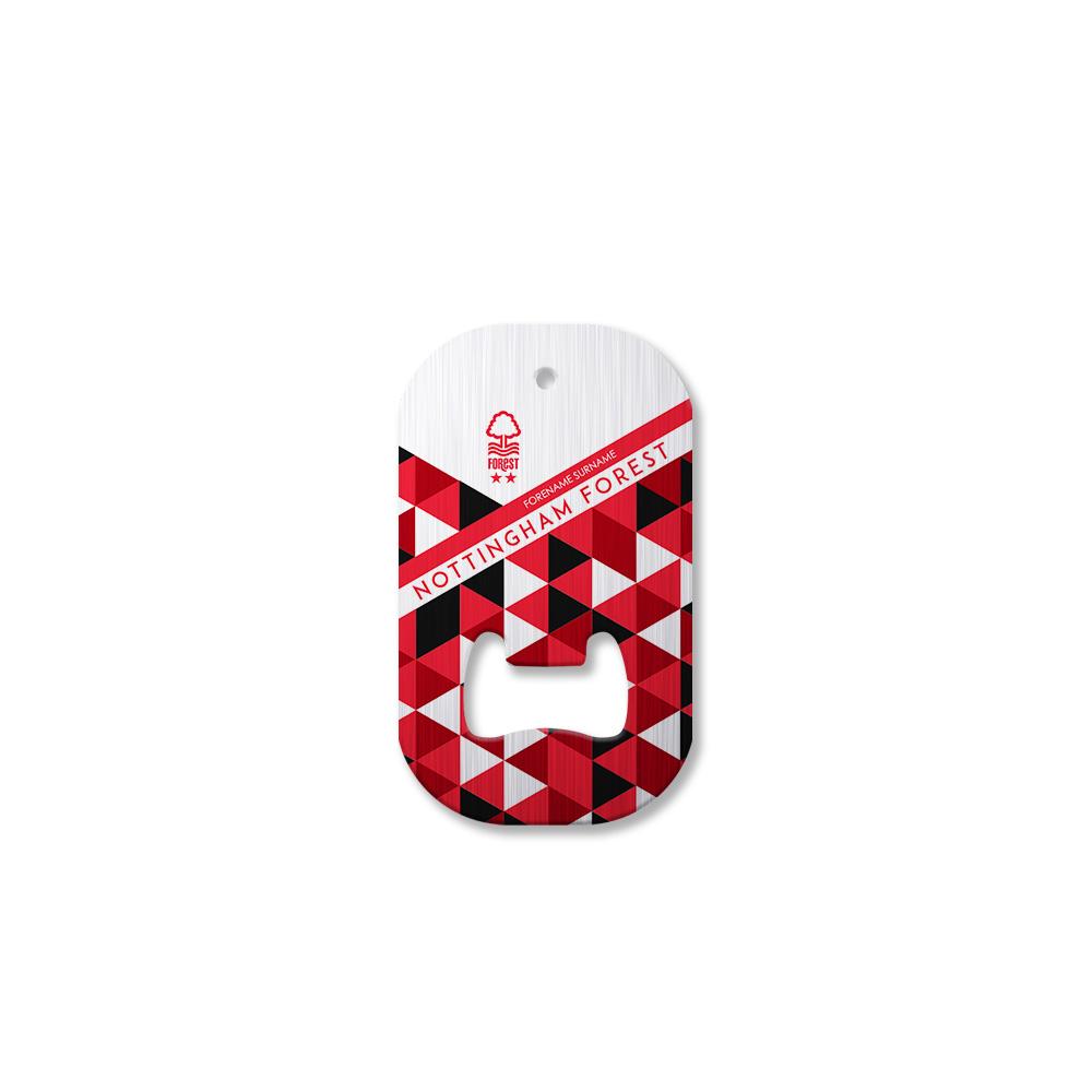 Nottingham Forest FC Patterned Compact Bottle Opener