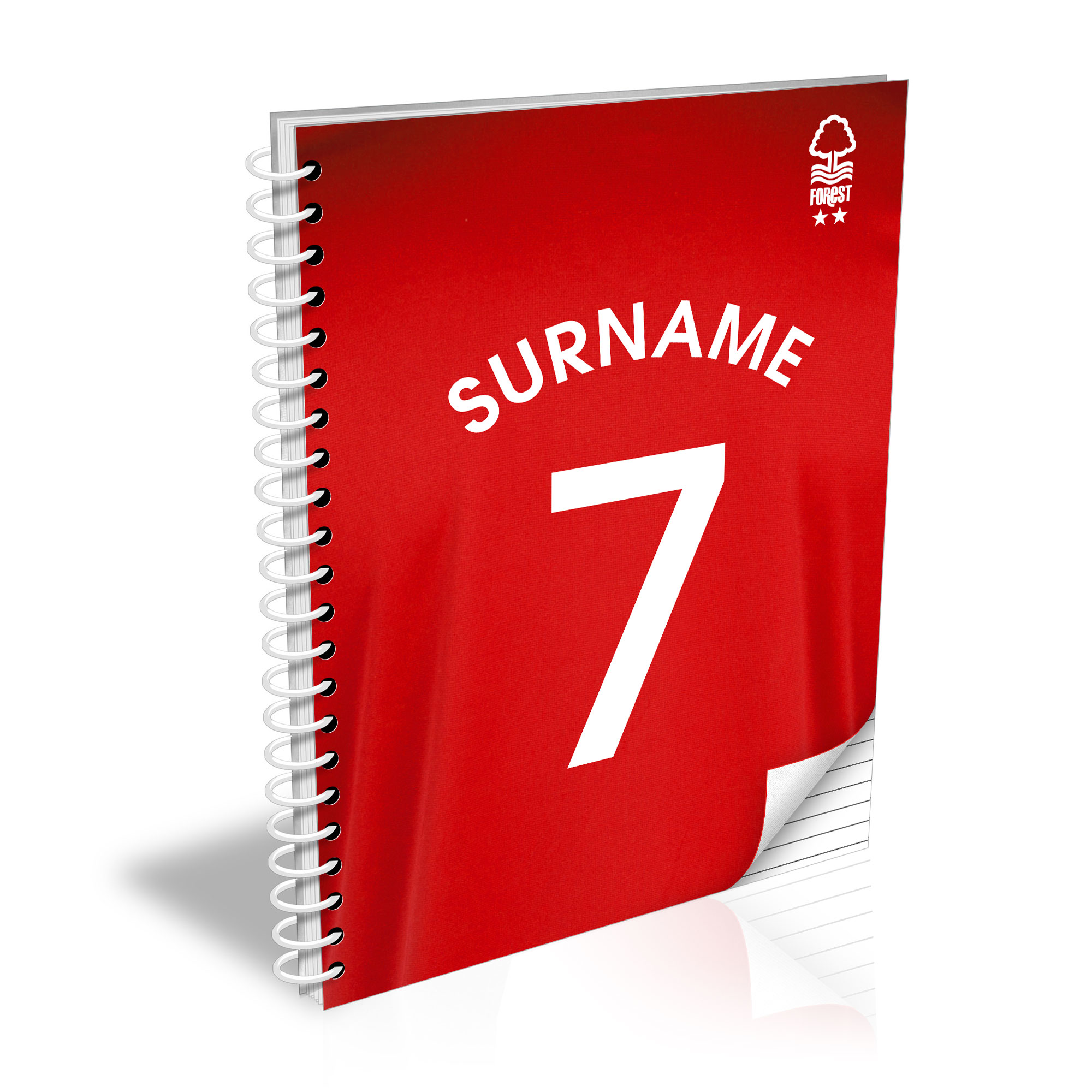 Nottingham Forest FC Shirt Notebook