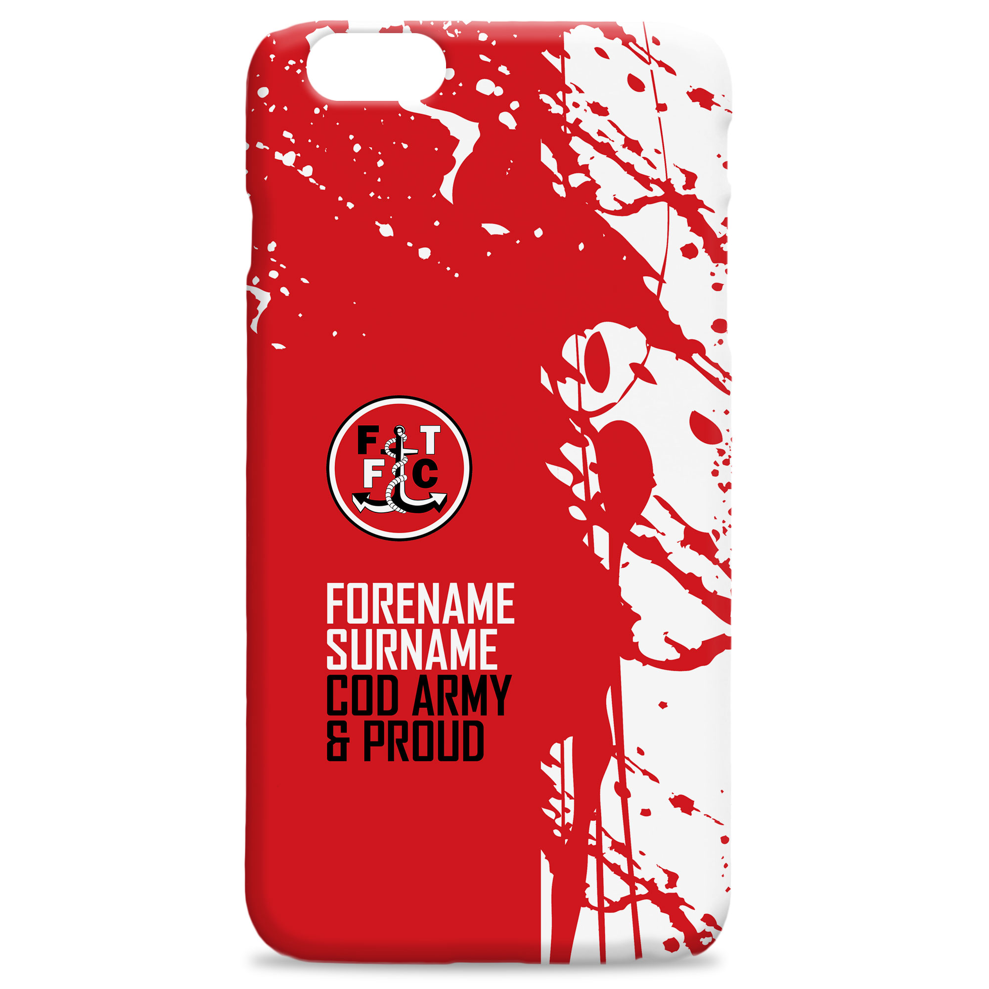Fleetwood Town FC Proud Hard Back Phone Case