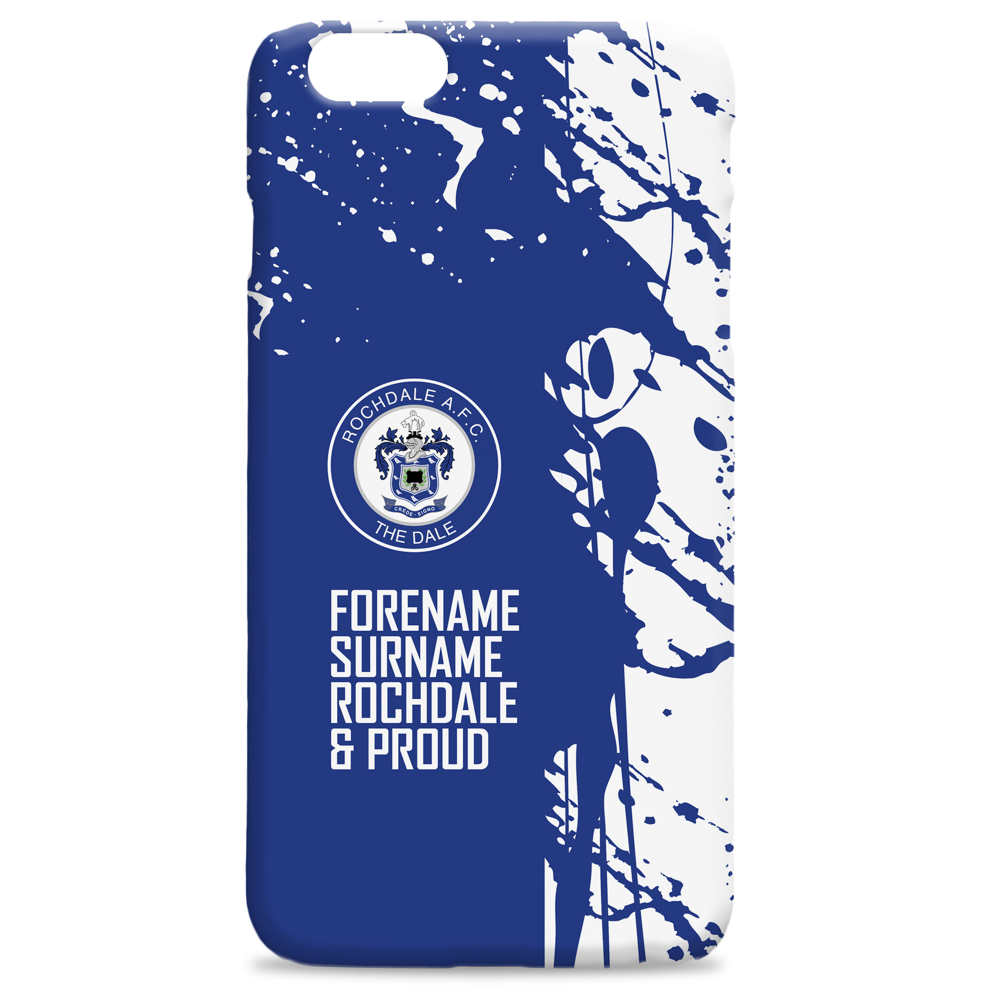 Rochdale AFC Proud Hard Back Phone Case
