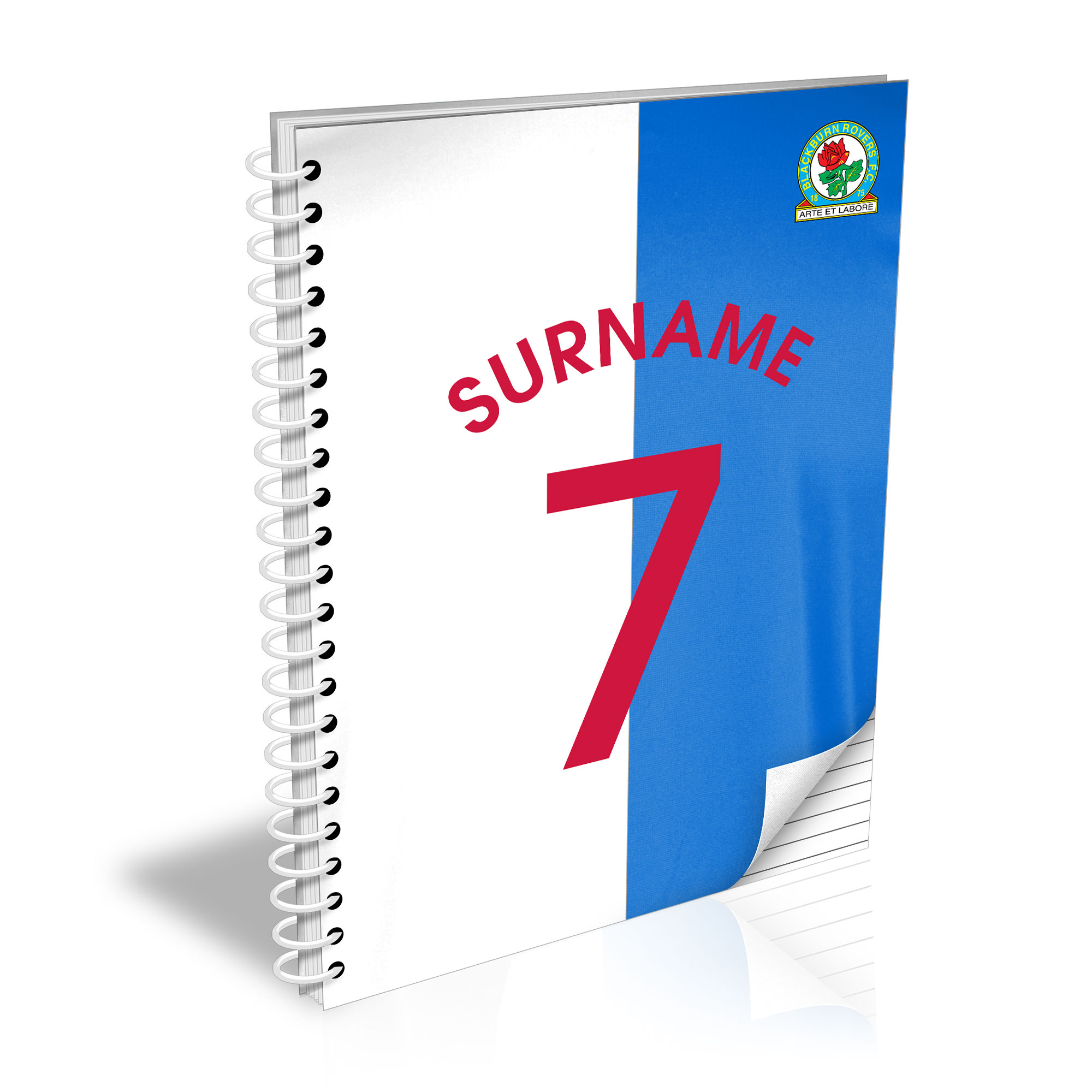 Blackburn Rovers FC Shirt Notebook