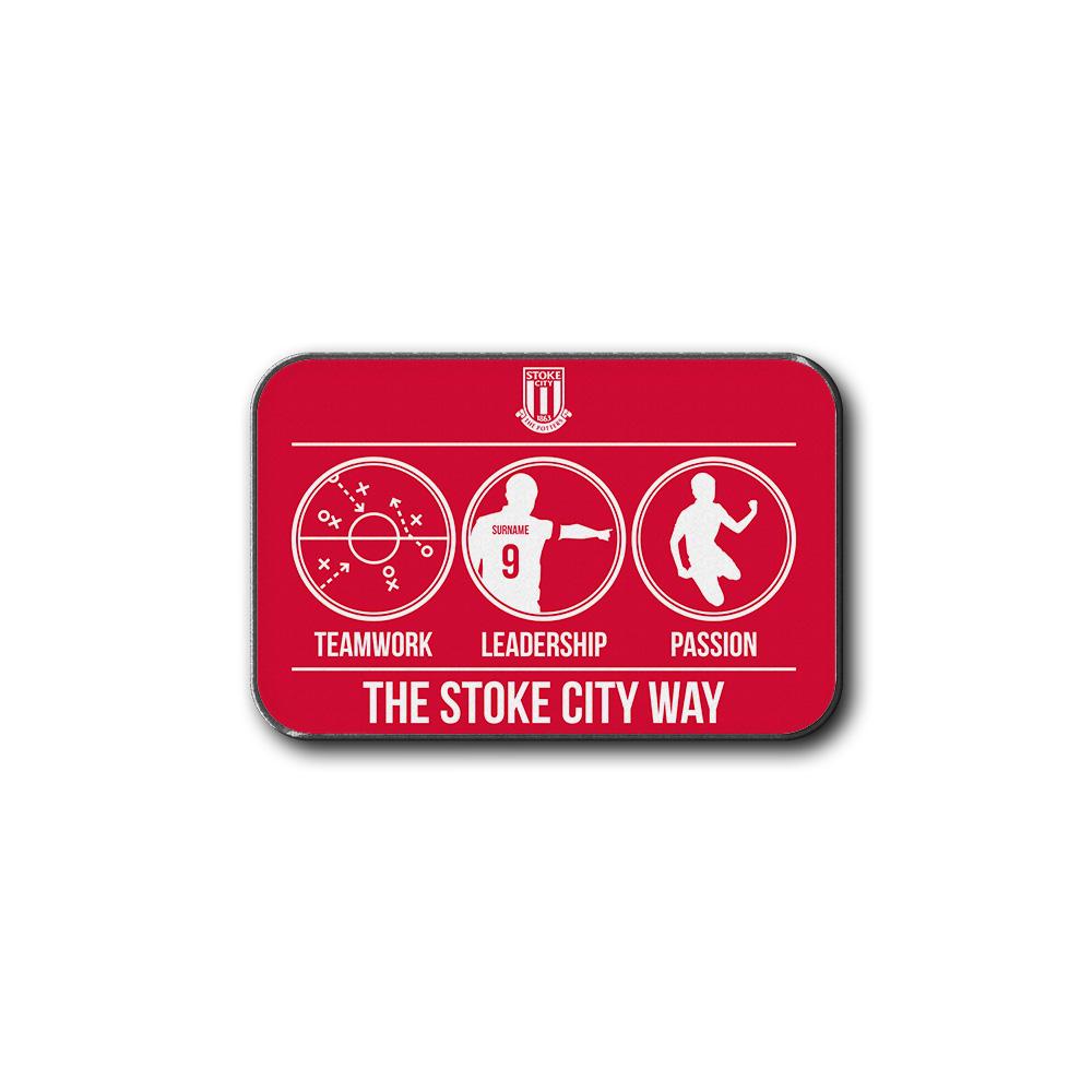 Stoke City FC Way Rear Car Mat