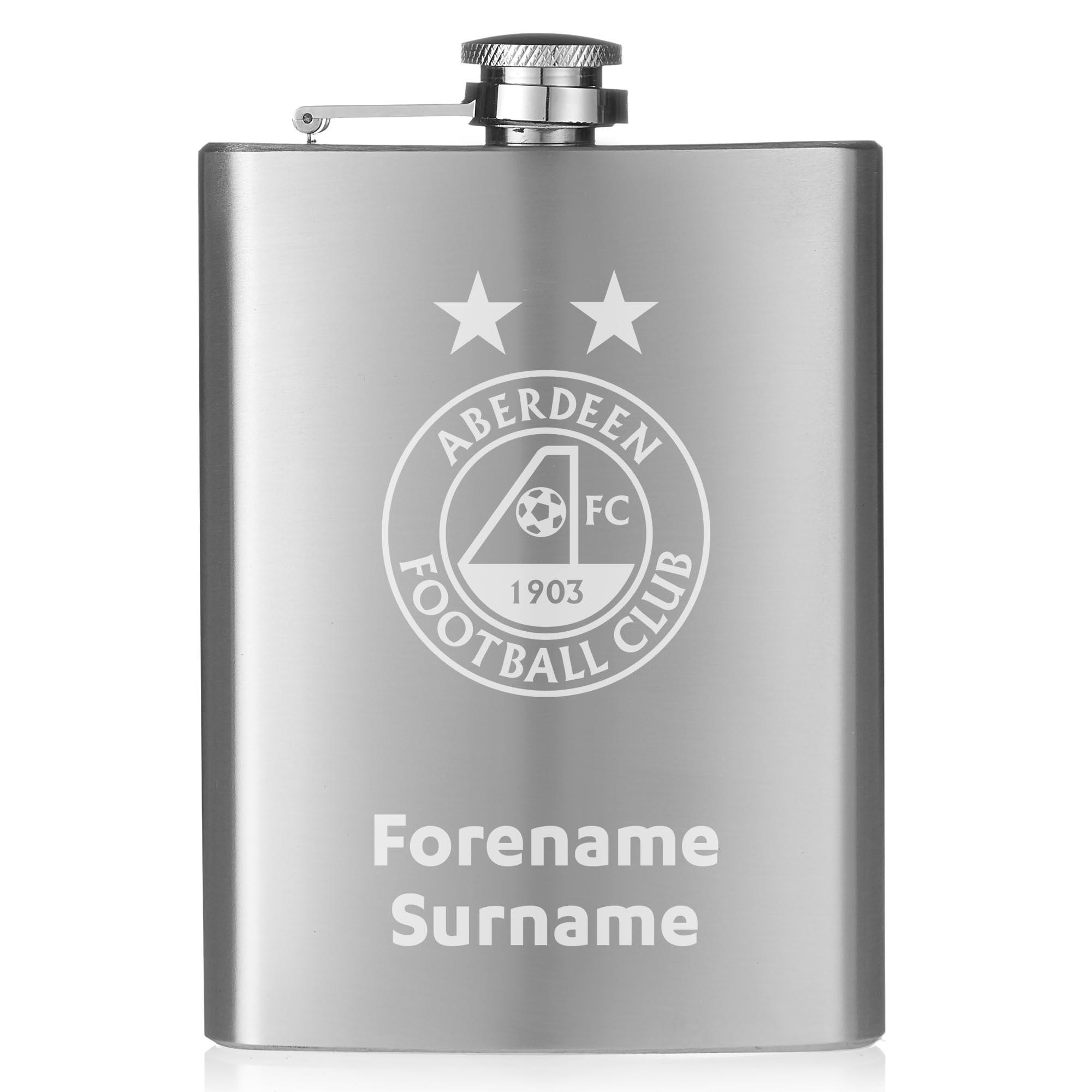 Aberdeen FC Crest Hip Flask
