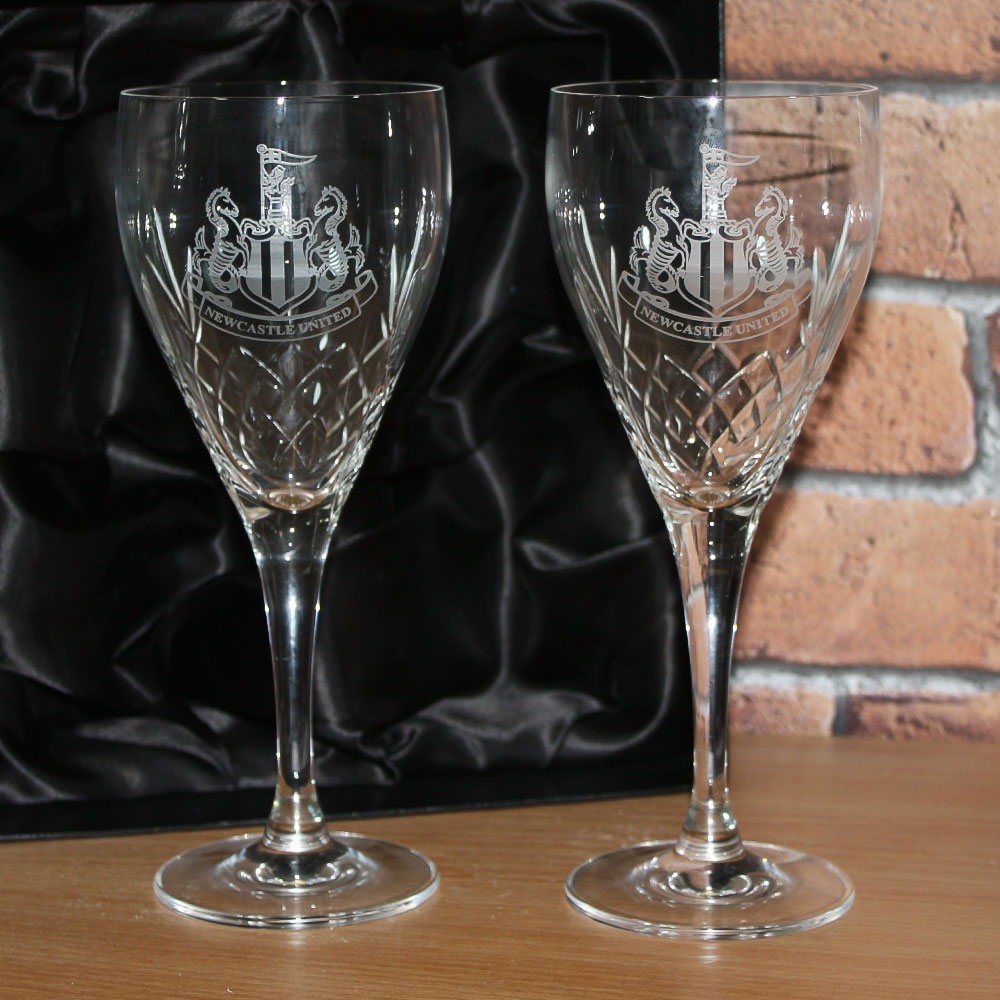 Crystal Mayfair Panel Goblets