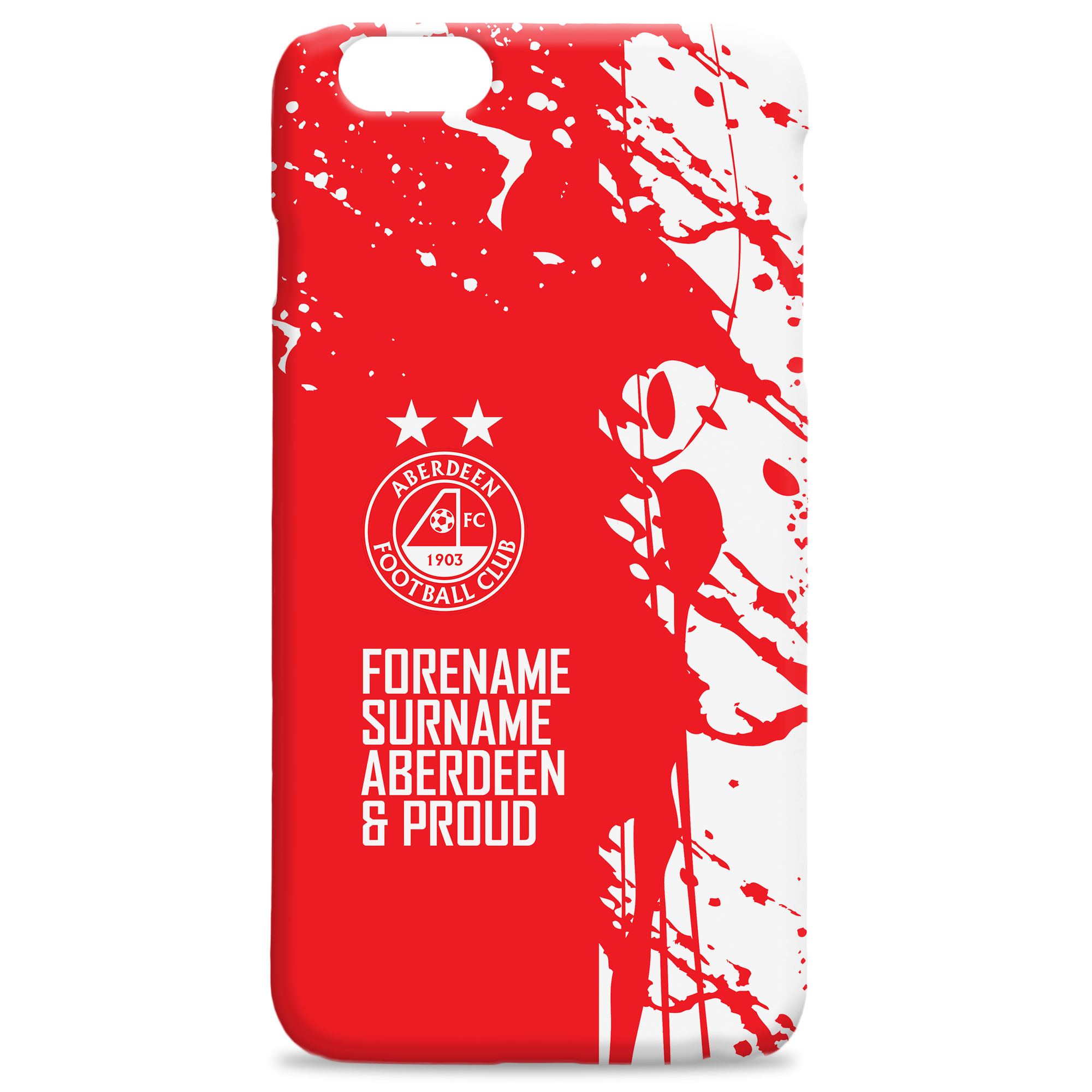 Aberdeen FC Proud Hard Back Phone Case