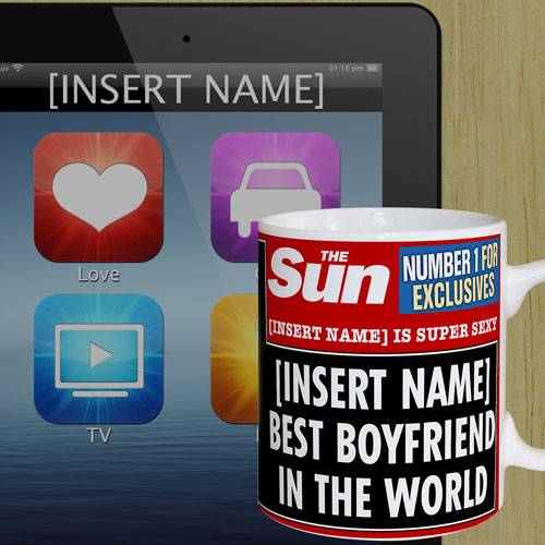 The Sun Best Boyfriend Mug