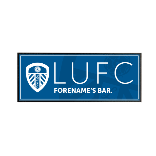 Leeds United FC Mono Crest Regular Bar Runner