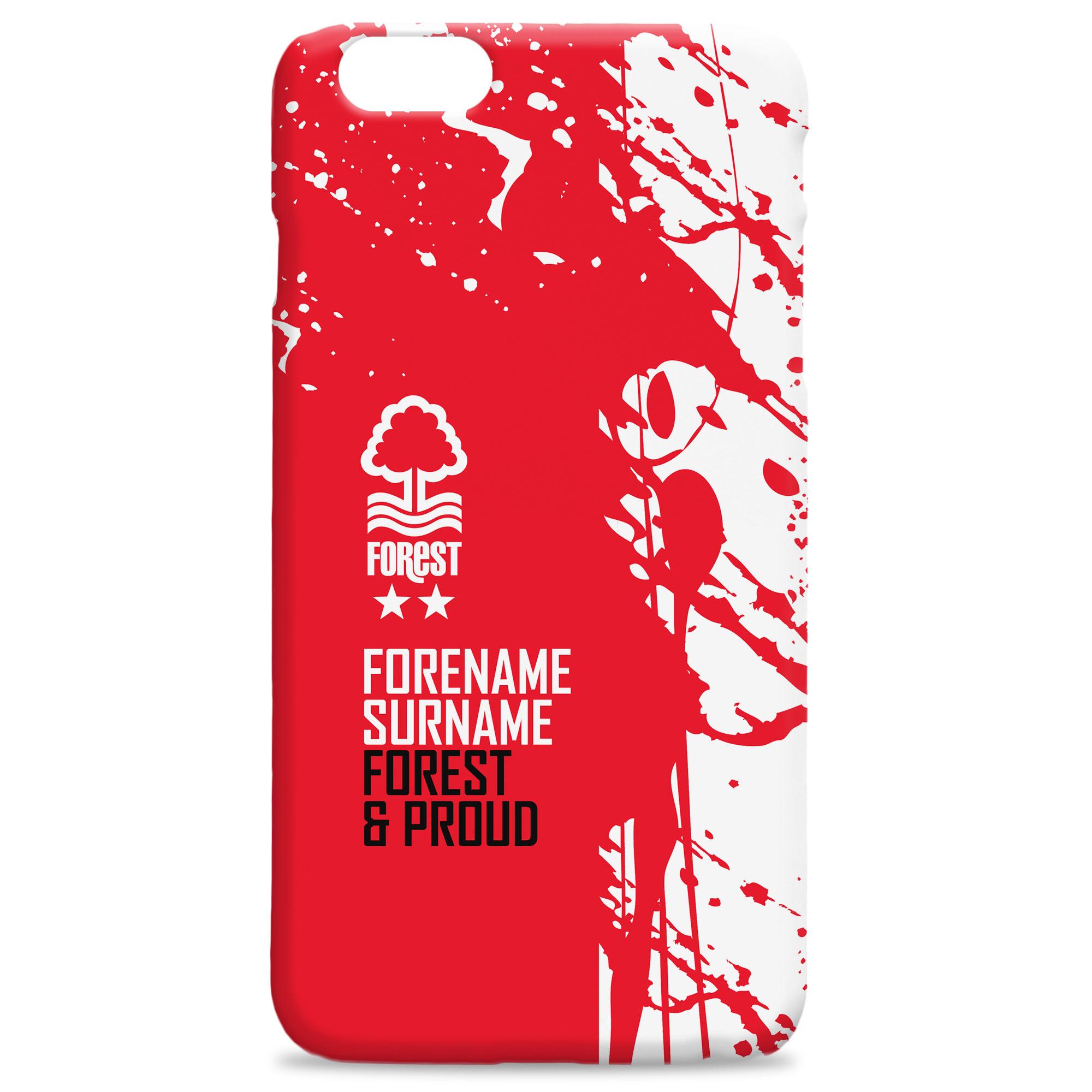 Nottingham Forest FC Proud Hard Back Phone Case