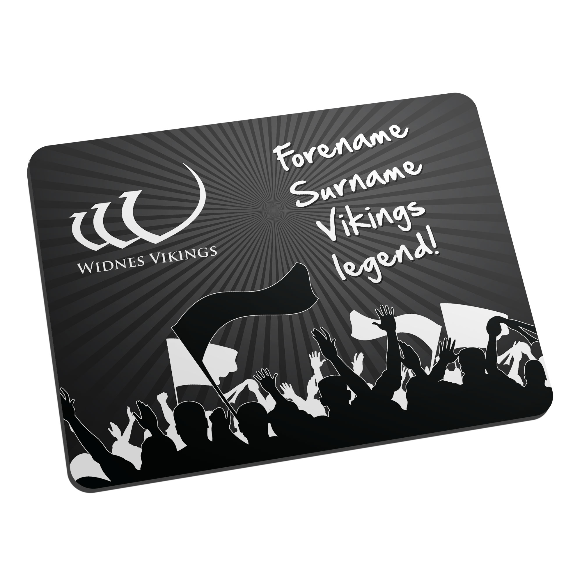 Widnes Vikings Legend Mouse Mat