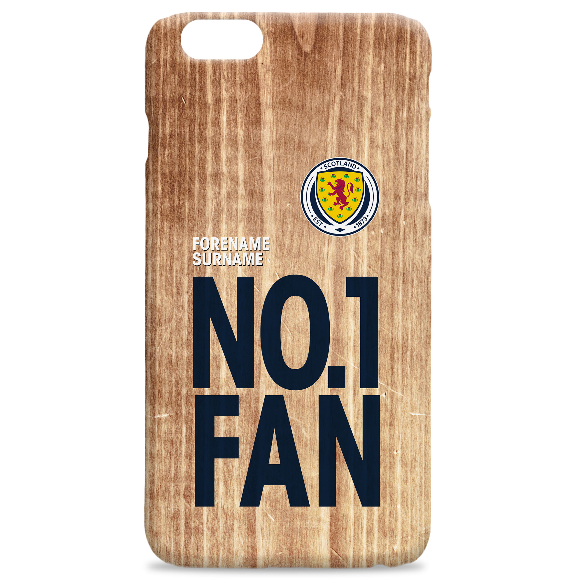 Scotland No 1 Fan Hard Back Phone Case