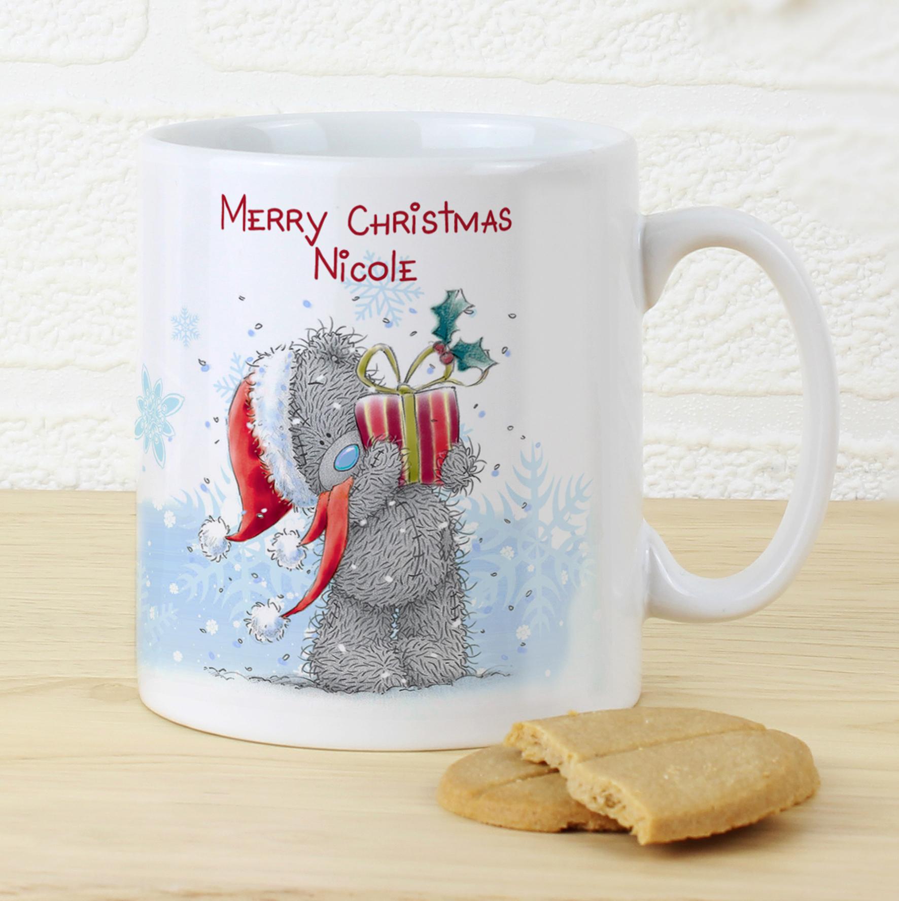Personalised Me to You Christmas Bear Mug