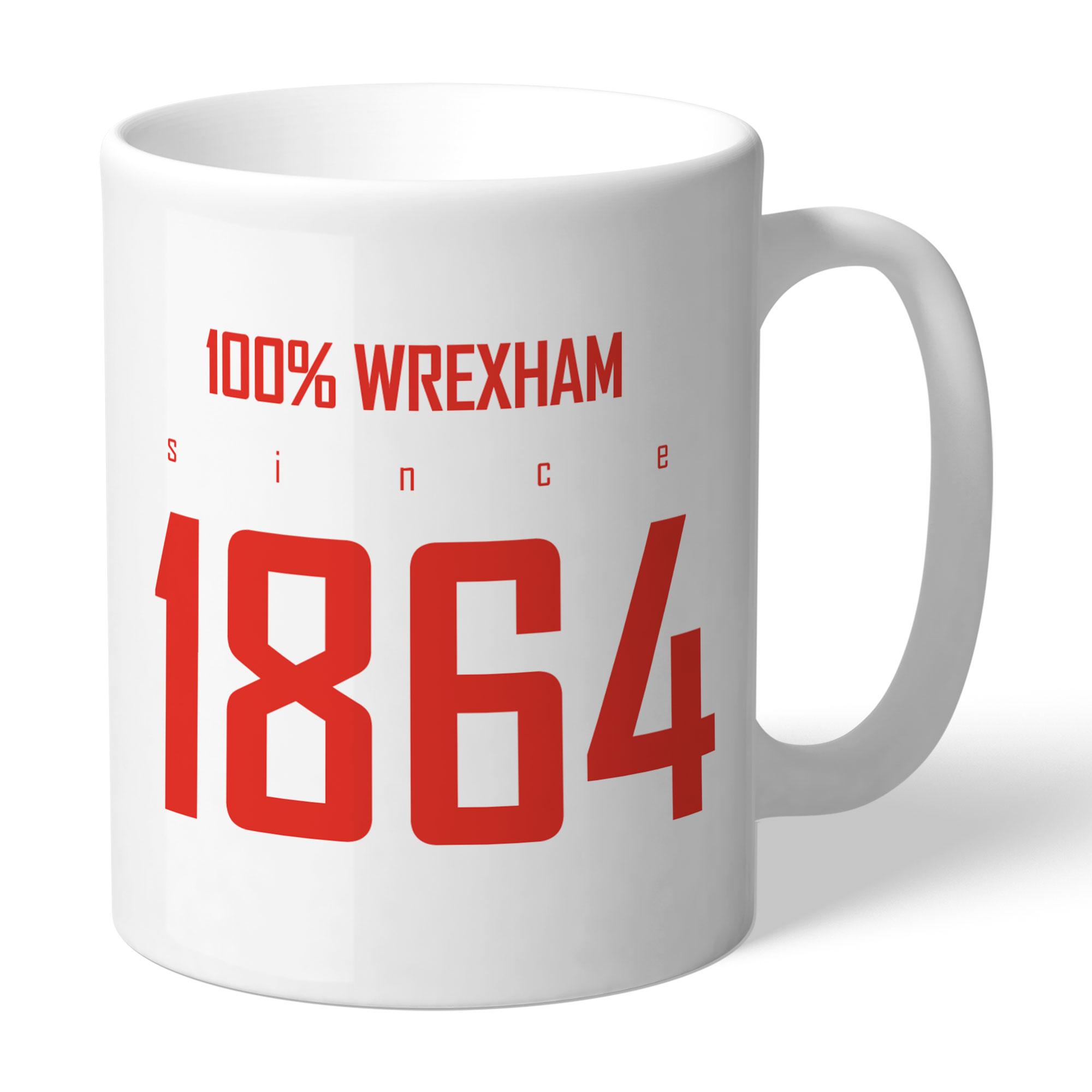 Wrexham AFC 100 Percent Mug