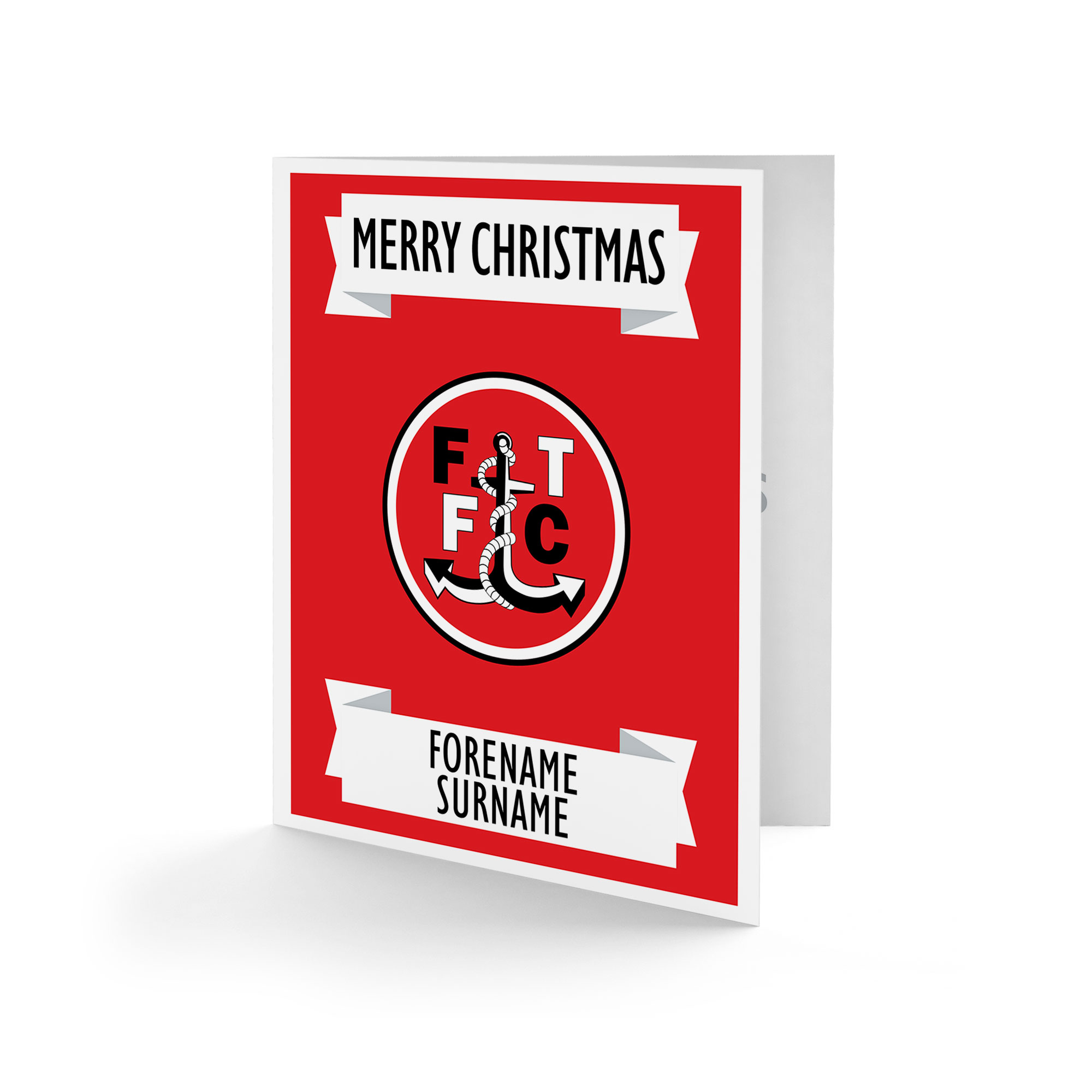 Fleetwood Town FC Crest Christmas Card
