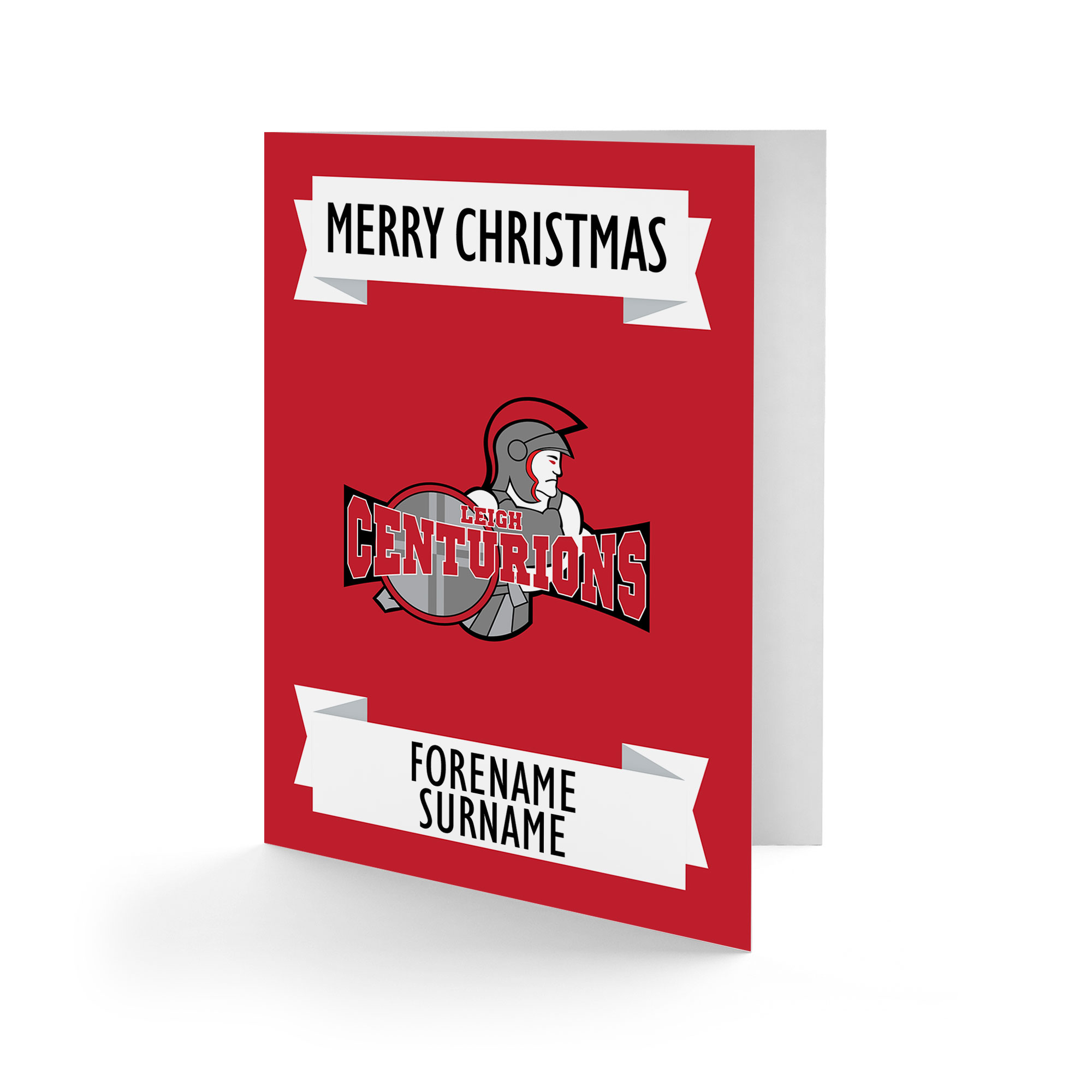 Leigh Centurions Crest Christmas Card