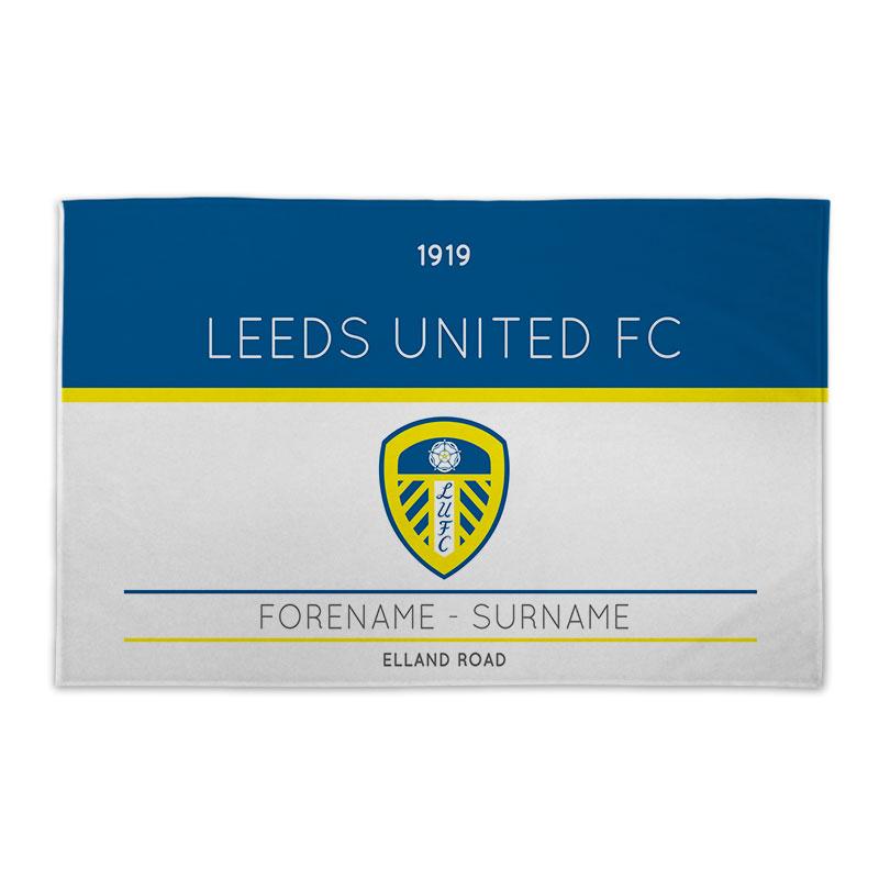 Leeds United FC Minimal Ticket 8ft x 5ft Banner