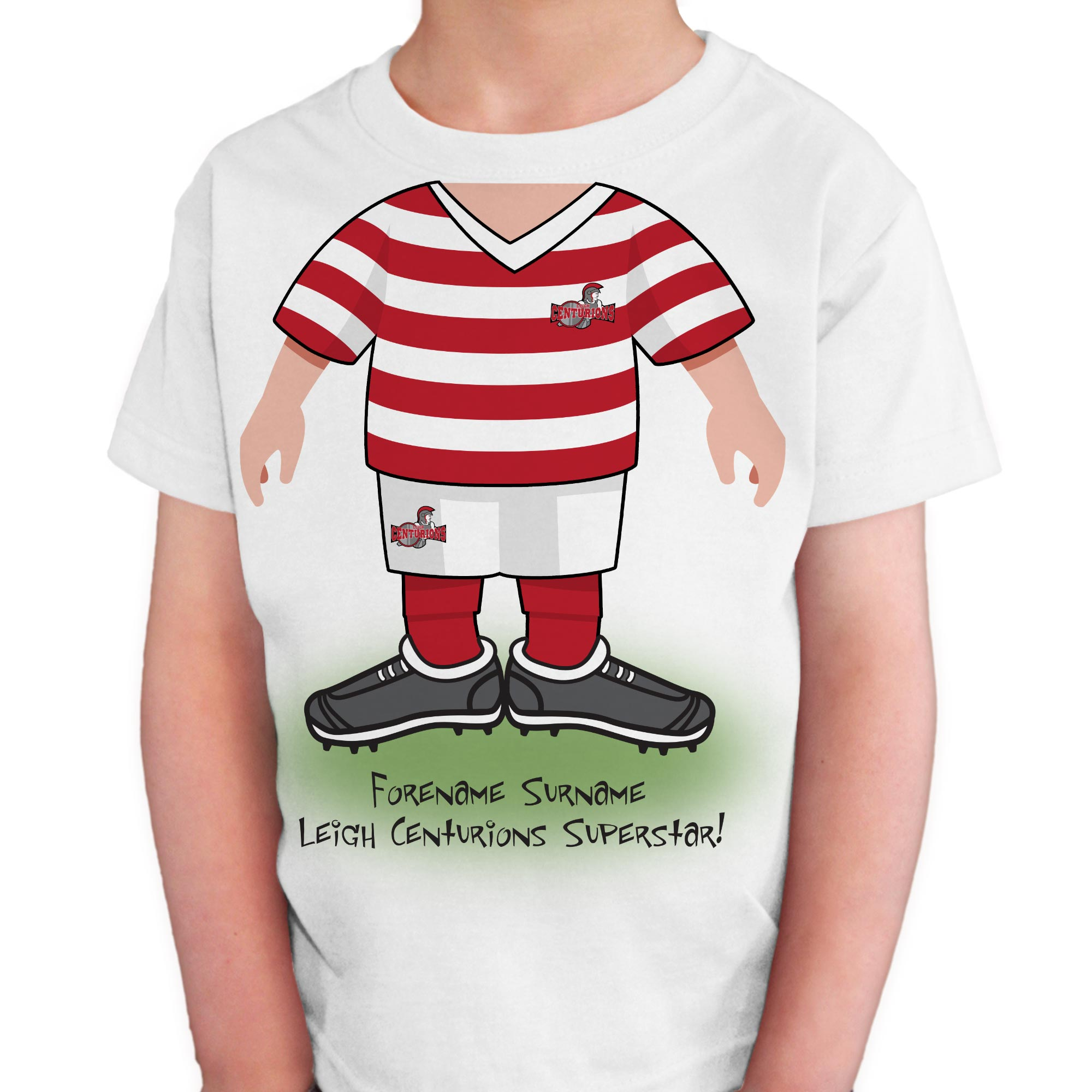 Leigh Centurions Kids Use Your Head T-Shirt