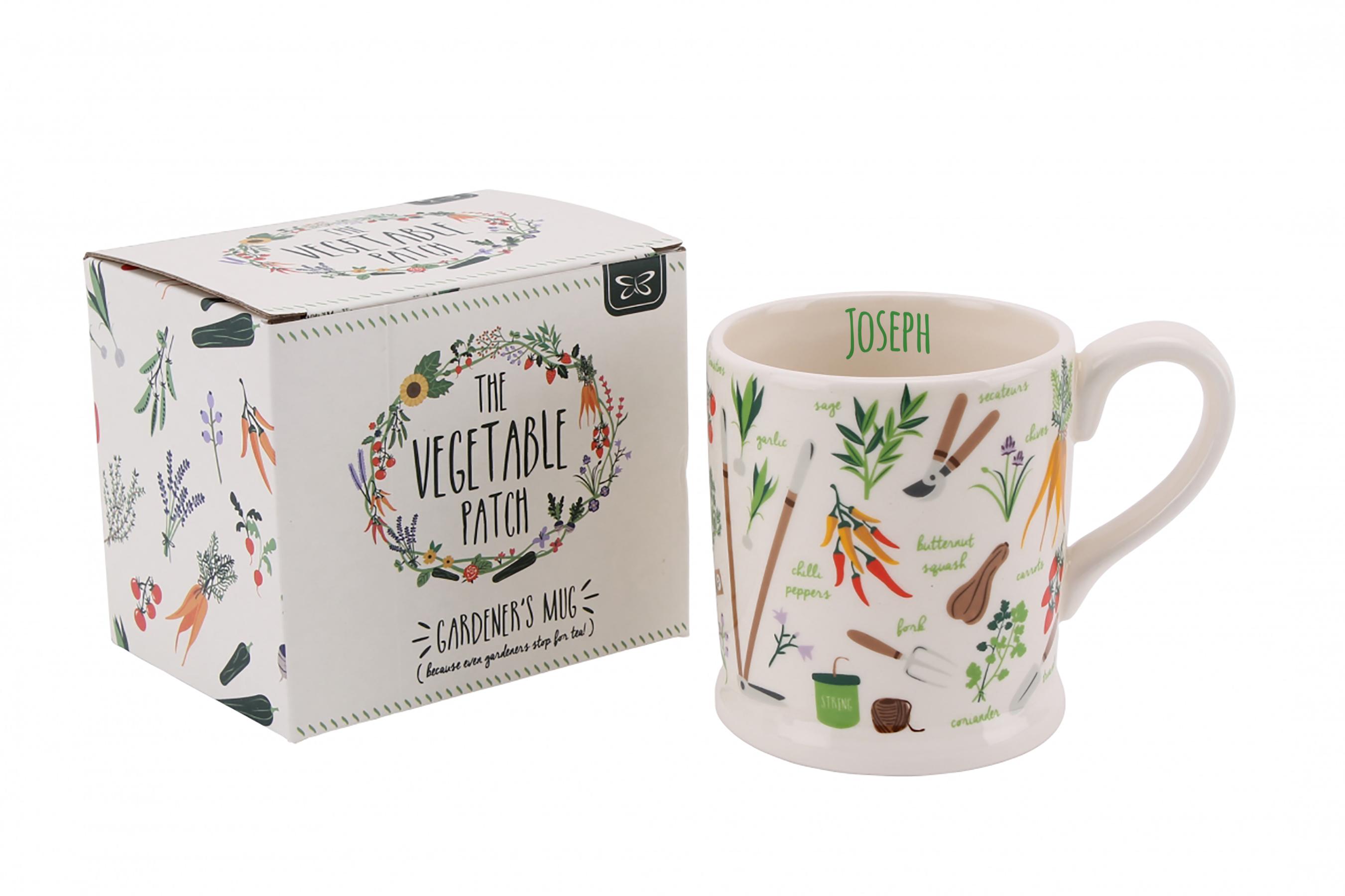 Vegetable Patch Mug
