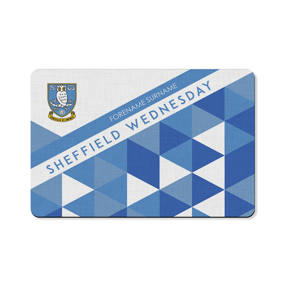 Sheffield Wednesday FC Patterned Floor Mat