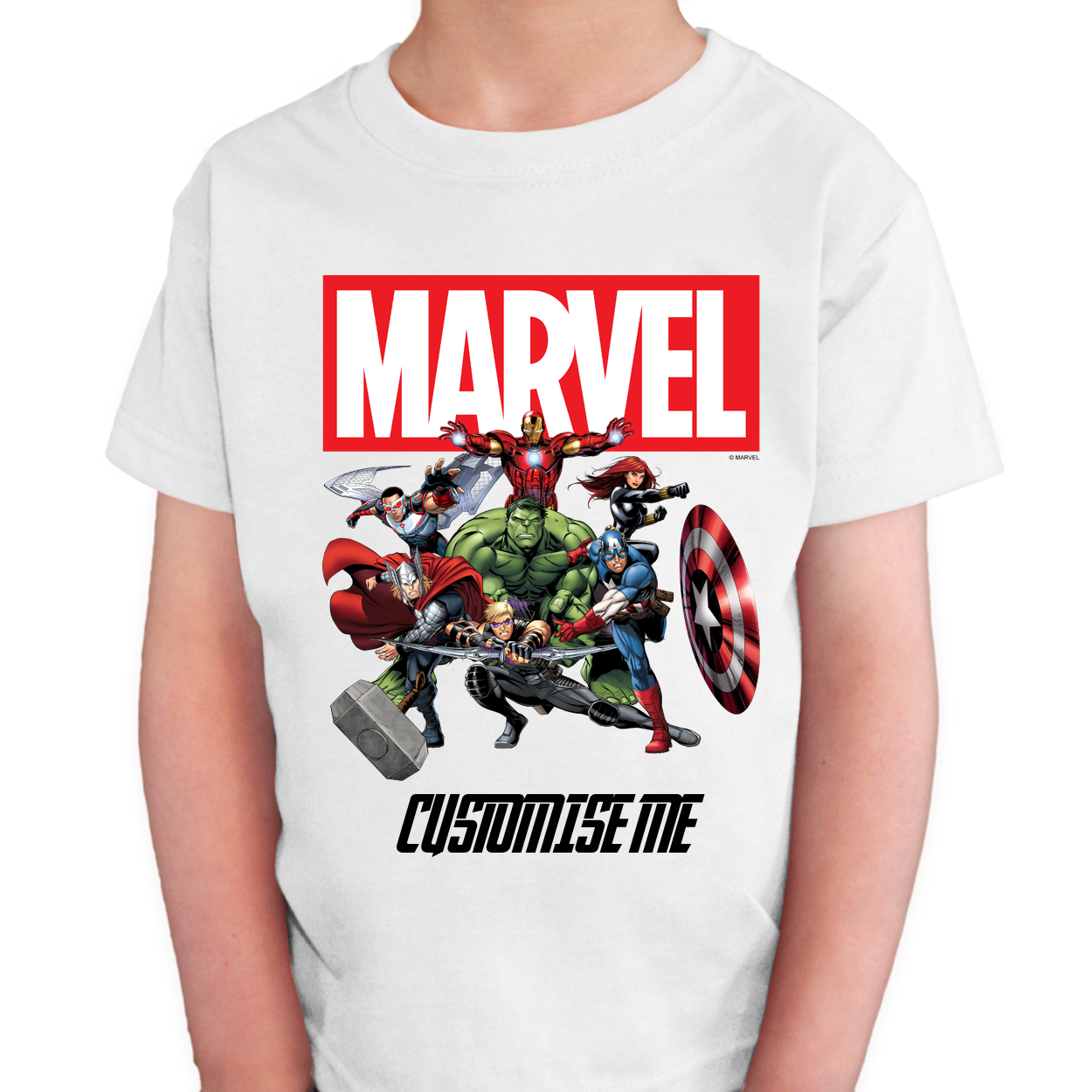 Marvel Avengers Group Kids T-Shirt