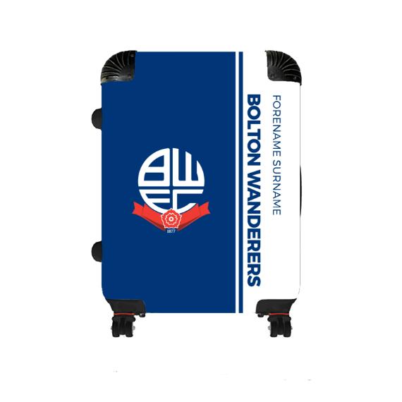 Bolton Wanderers FC Crest Medium Suitcase