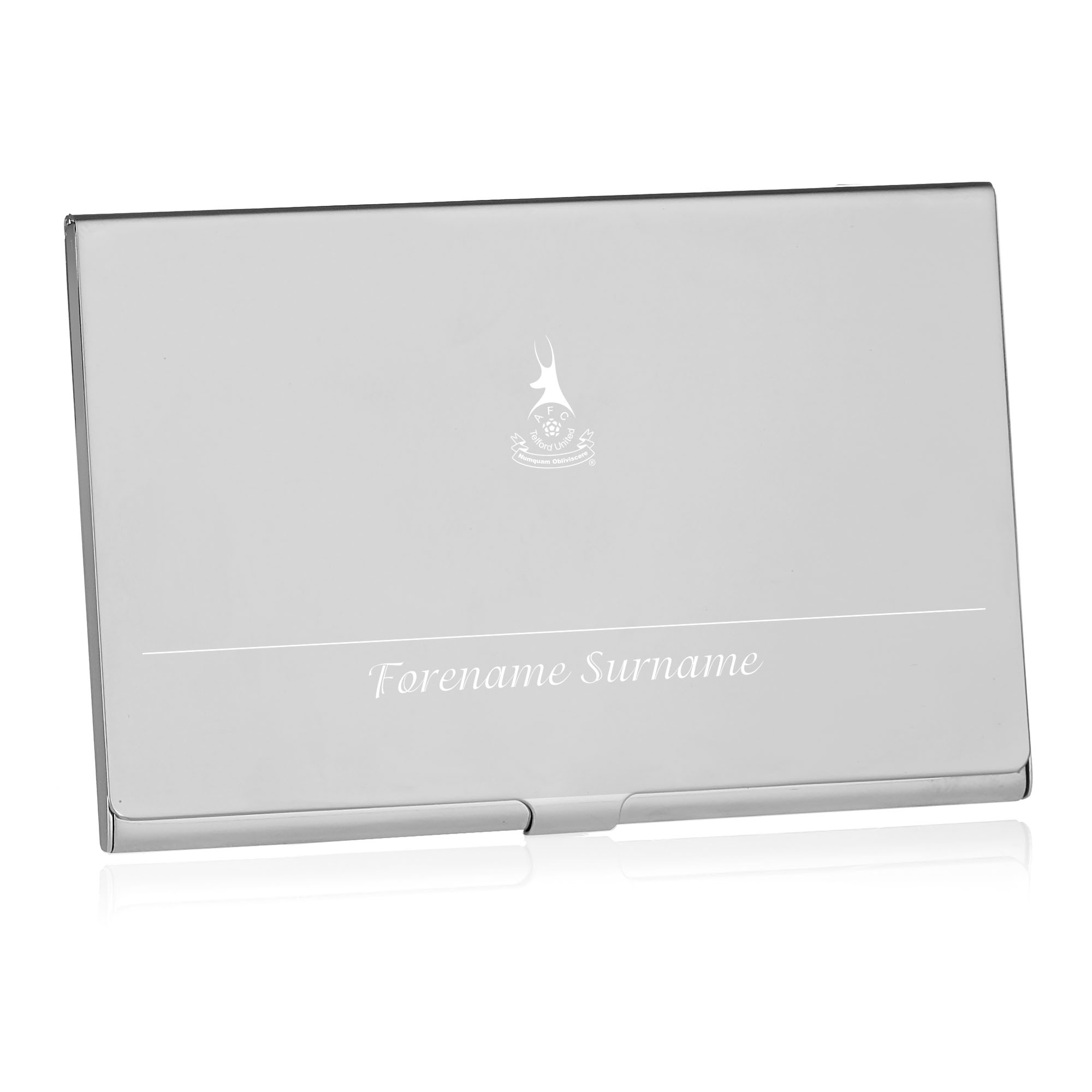 AFC Telford United Executive Business Card Holder